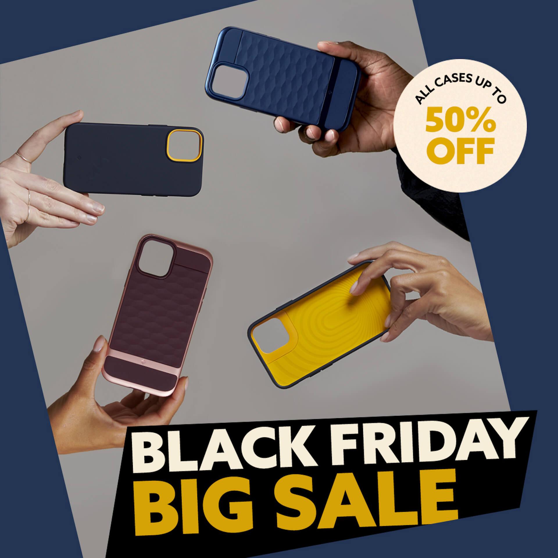 CaseologyのiPhone 12用ケースや強化ガラスフィルム、AirPods Pro用ケースが最大50%OFF!Amazonブラックフライデーでセール実施中 tech201127_spigen_amazon_main