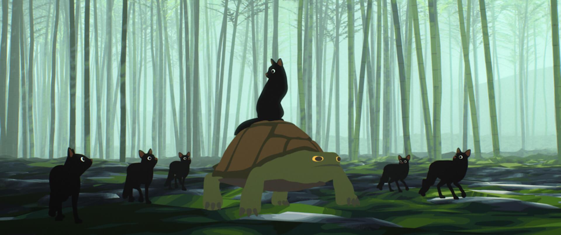 世界の映画祭で大絶賛のアニメーション映画『Away』の本編映像が到着!たった一人で製作・監督・編集・音楽を担当した長編大作 film201201_away_01