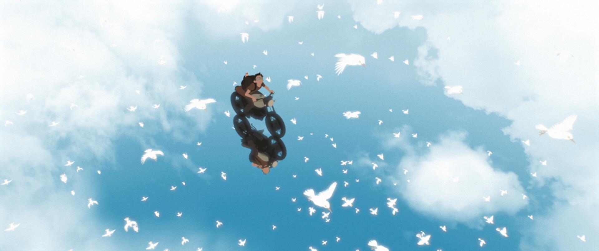 世界の映画祭で大絶賛のアニメーション映画『Away』の本編映像が到着!たった一人で製作・監督・編集・音楽を担当した長編大作 film201201_away_02