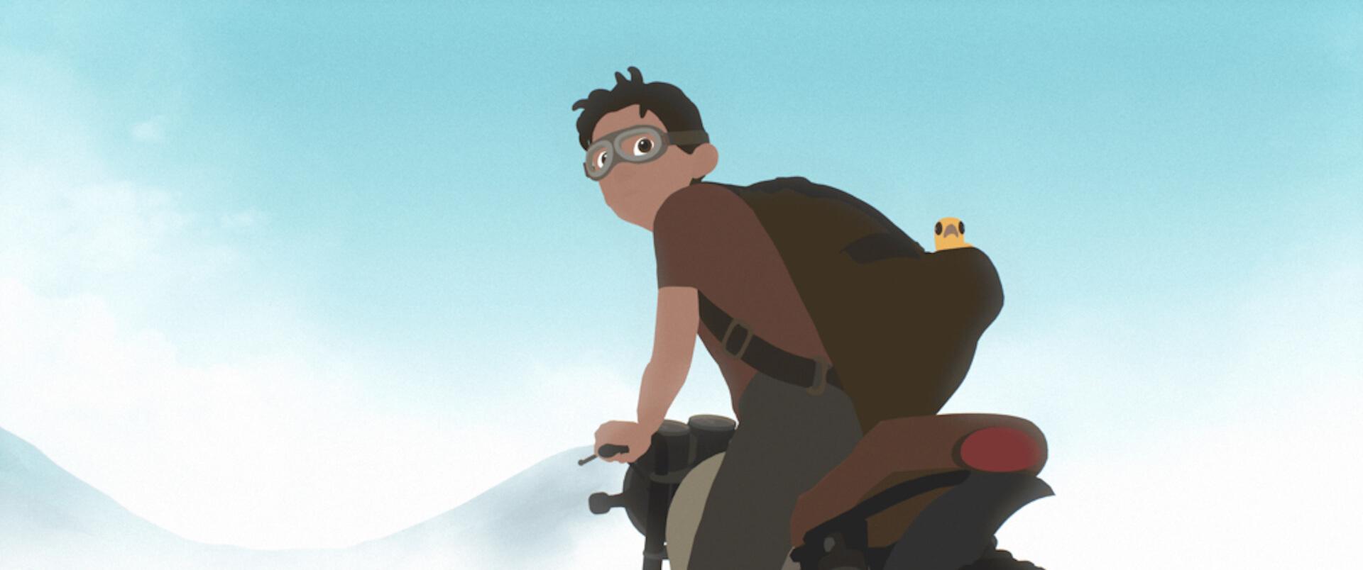 世界の映画祭で大絶賛のアニメーション映画『Away』の本編映像が到着!たった一人で製作・監督・編集・音楽を担当した長編大作 film201201_away_03
