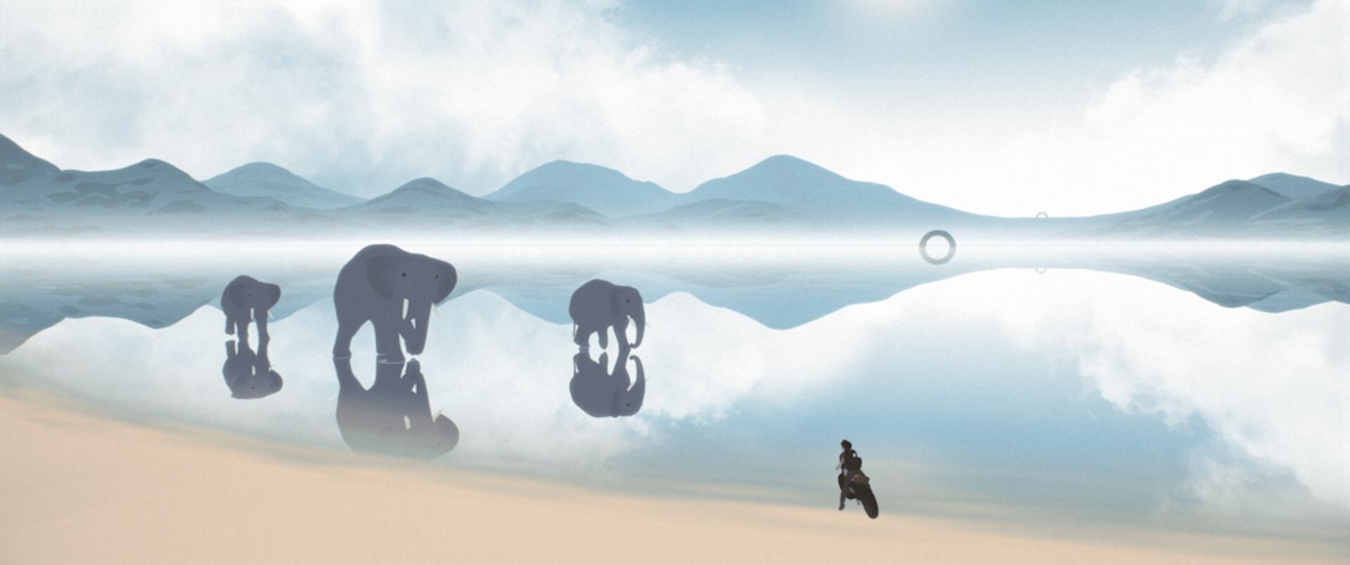 世界の映画祭で大絶賛のアニメーション映画『Away』の本編映像が到着!たった一人で製作・監督・編集・音楽を担当した長編大作 film201201_away_05