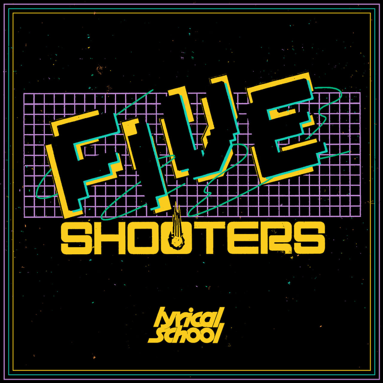 lyrical school、2021年1月リリースのアルバムよりvalknee作詞のシングル「FIVE SHOOTERS」のMVを公開 music201202-lyricalschool-2