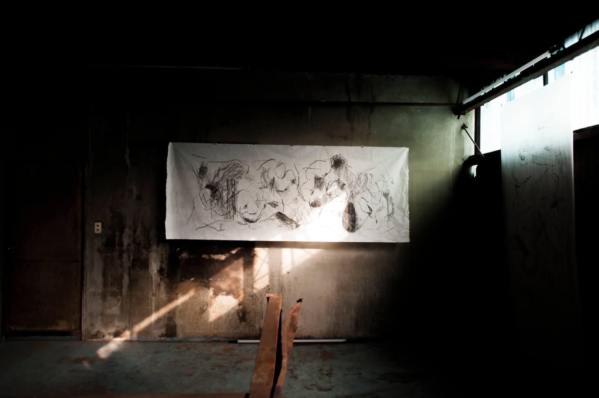 UC EASTの東京初個展「MOTHER」がANAGRAにて開催 オープニングパーティには¥ØU$UK€ ¥UK1MAT$U、Akie、Celterが出演 art-culture201202-uceast-anagra-5
