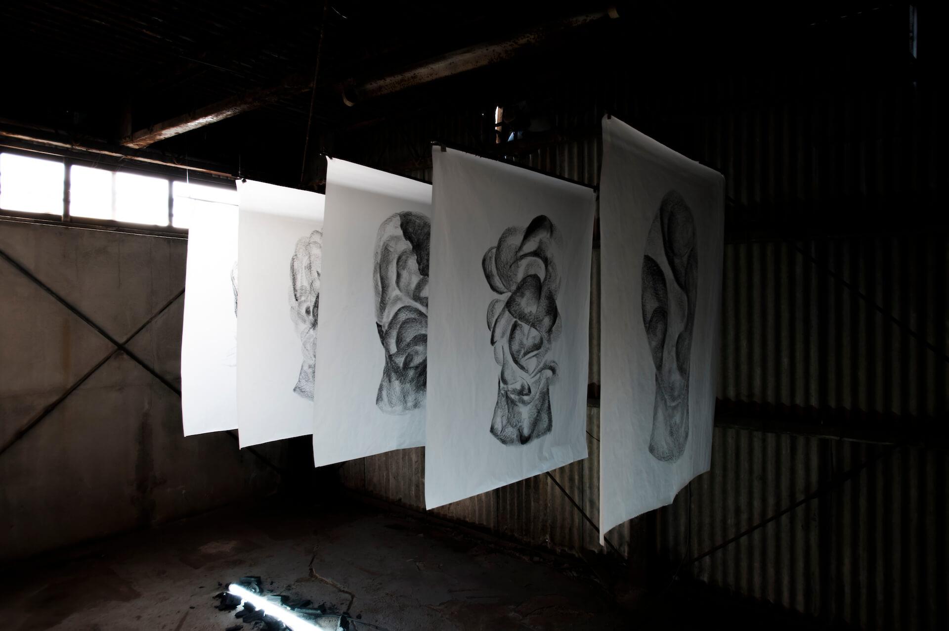 UC EASTの東京初個展「MOTHER」がANAGRAにて開催 オープニングパーティには¥ØU$UK€ ¥UK1MAT$U、Akie、Celterが出演 art-culture201202-uceast-anagra-6