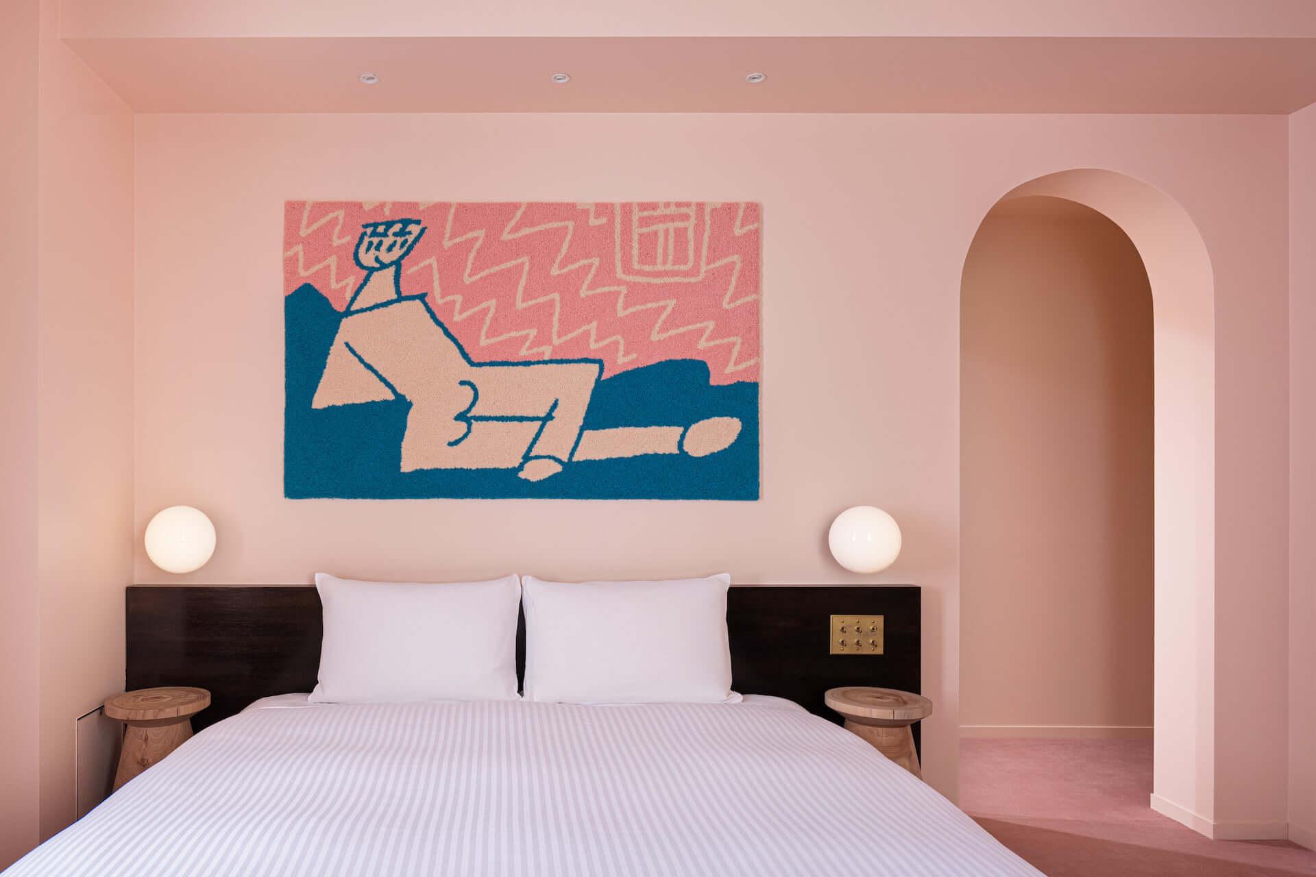 泊まれるアート作品が26部屋も!YOSHIROTTEN、カワムラユキらが参加したオルタナティブホテル「BnA_WALL」が日本橋にプレオープン lf201203_bna-wall_12-1920x1280