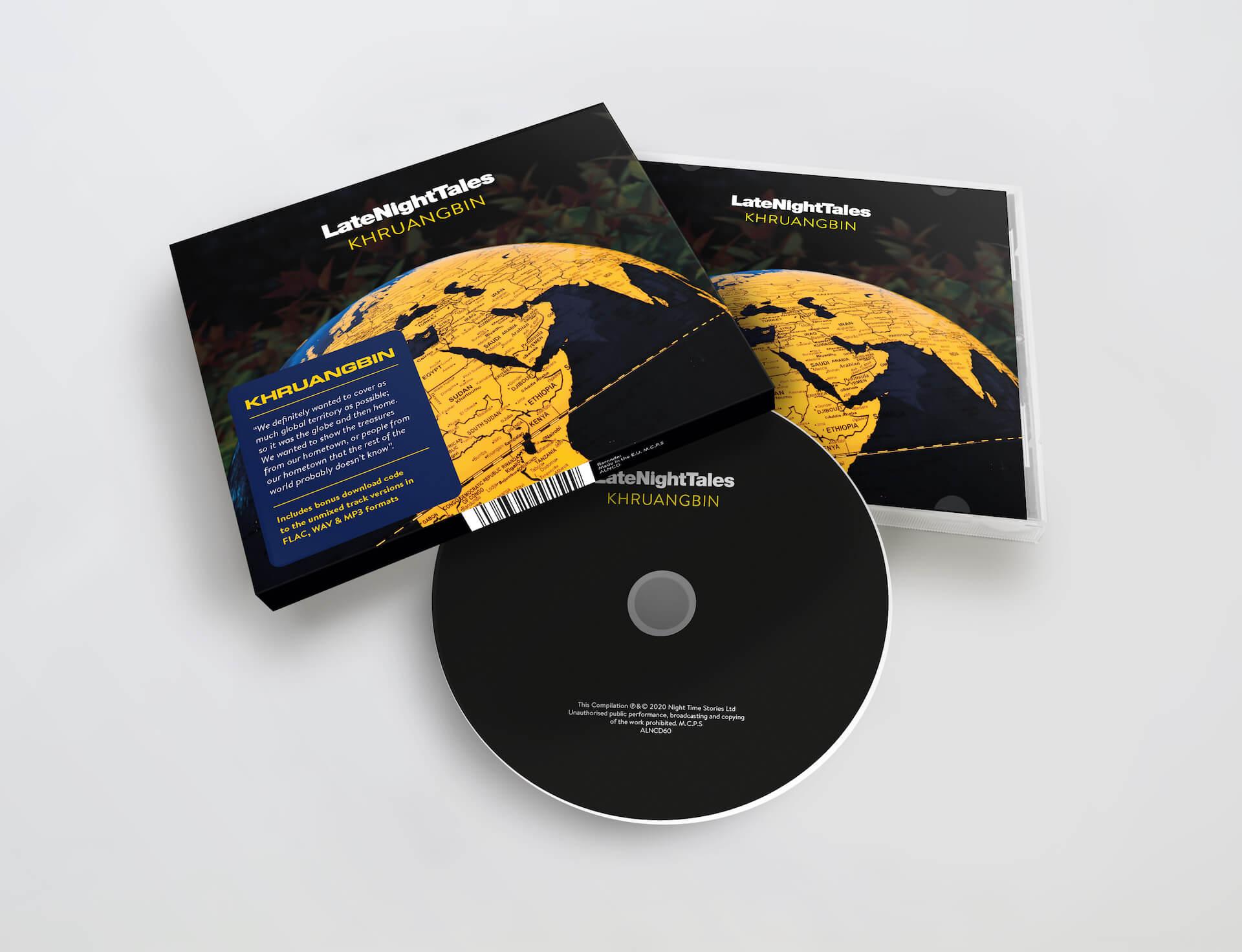 """Khruangbinがセレクトする""""夜聴き""""コンピ『Late Night Tales: Khruangbin』が明日発売! music201203_khruangbin_3"""