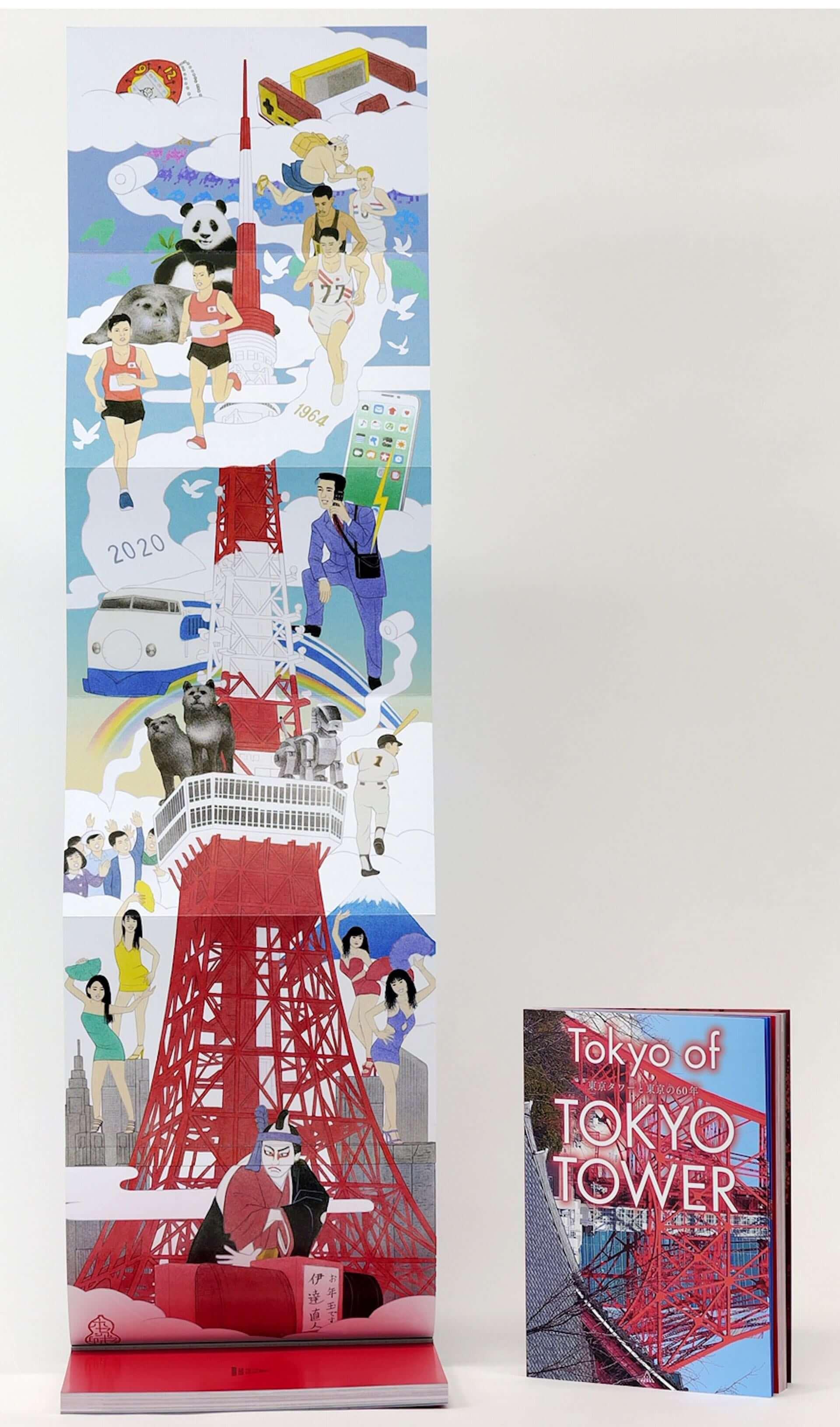 東京タワーと東京の歴史に迫る!書籍『Tokyo of TOKYO TOWER 東京タワーと東京の60年』が刊行決定&特別体験ツアー応募ハガキも同梱 art201204_tokyotower_3-1920x3263