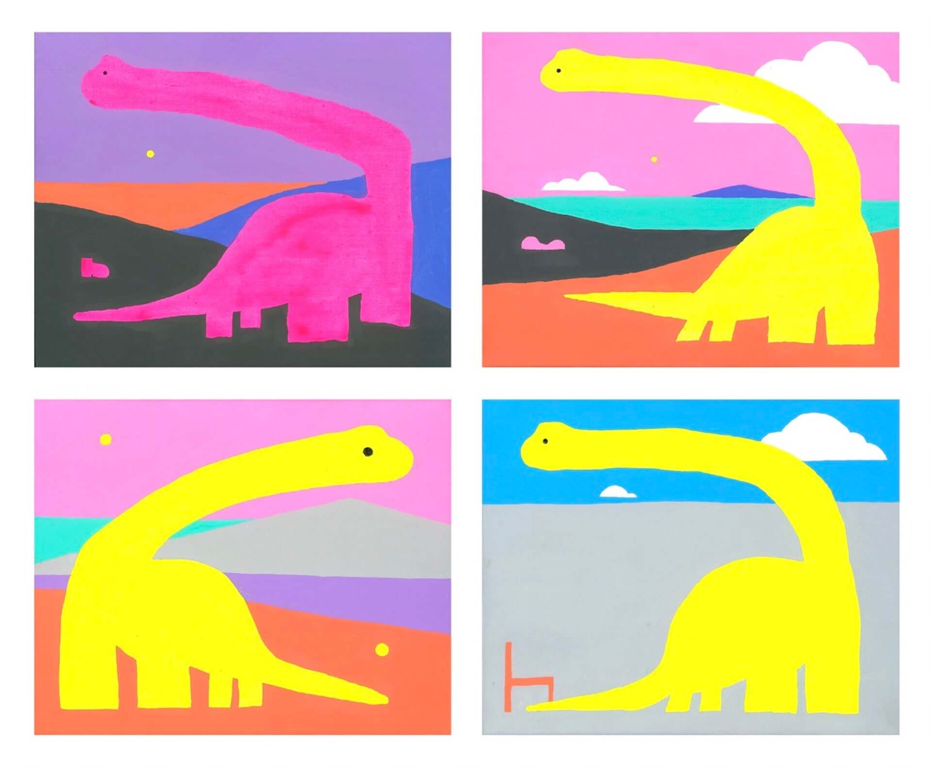 夏目知幸の個展<なつめともゆき〈きょうりゅう〉展>が阿佐ヶ谷VOIDにて来週開幕!本人コメントも到着 art201204_natsumetomoyuki_2-1920x1582
