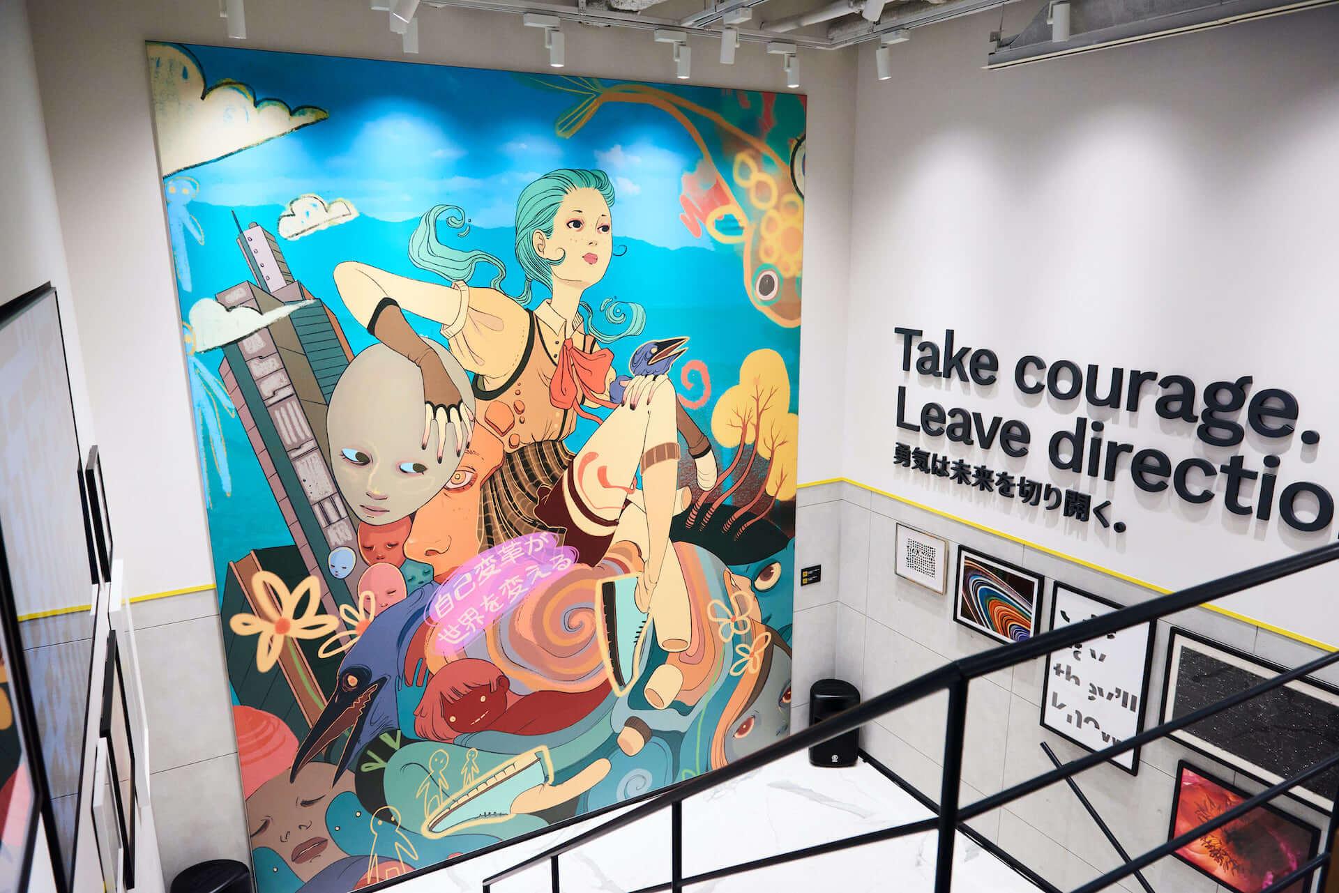 ローレン・サイのアートも展示!原宿キャットストリートに新コンセプトストア「COLE HAAN GRANDSHØP」がオープン&VRショーのレポートも到着 lf201204_colehaan_3-1920x1281