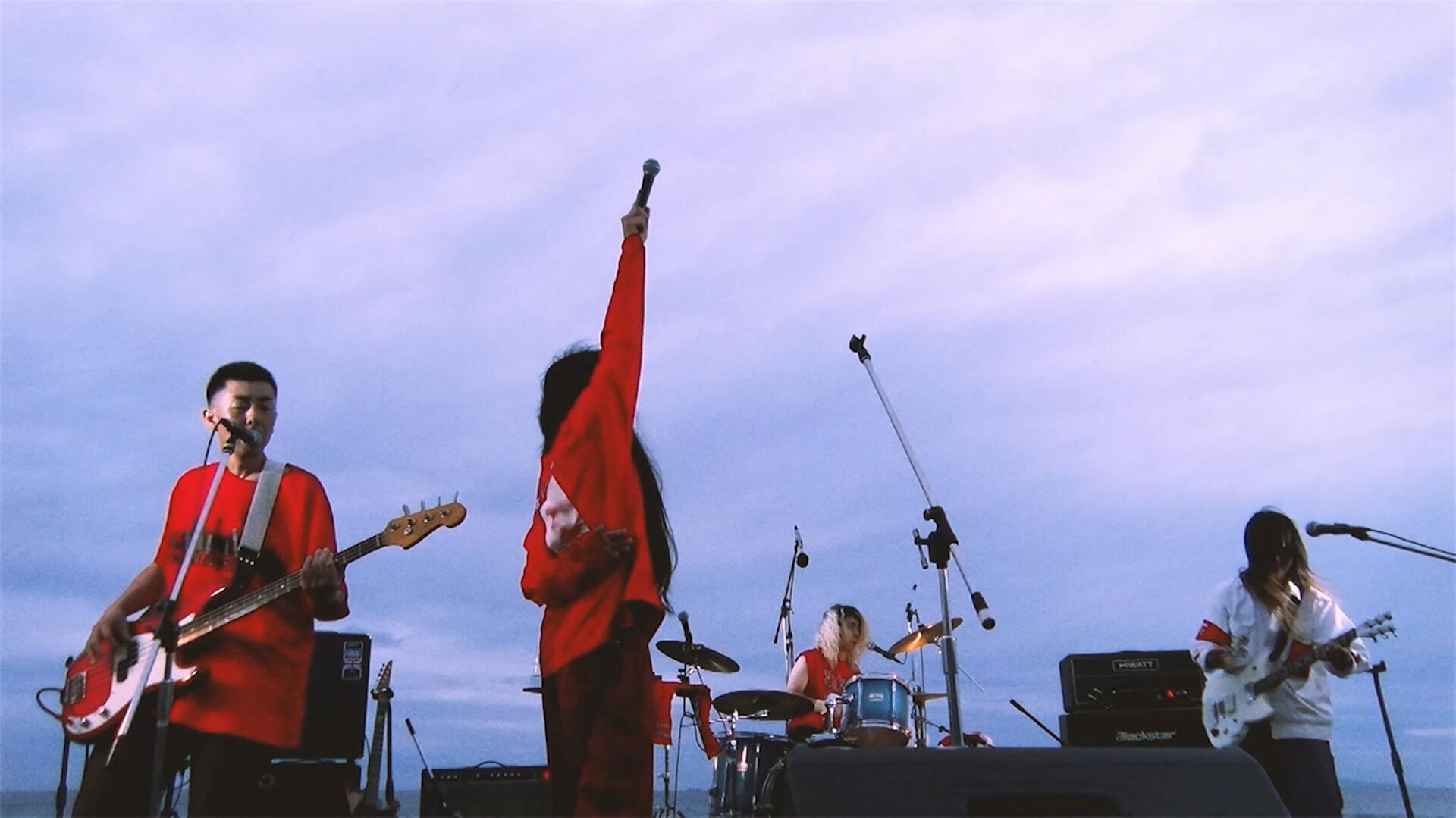 <GEZAN-LIVE@全感覚菜>ライブ映像の有料配信が決定!映像作品『Last Language ~30 hours drumming~』のDVD発売記念 music201110_gezan