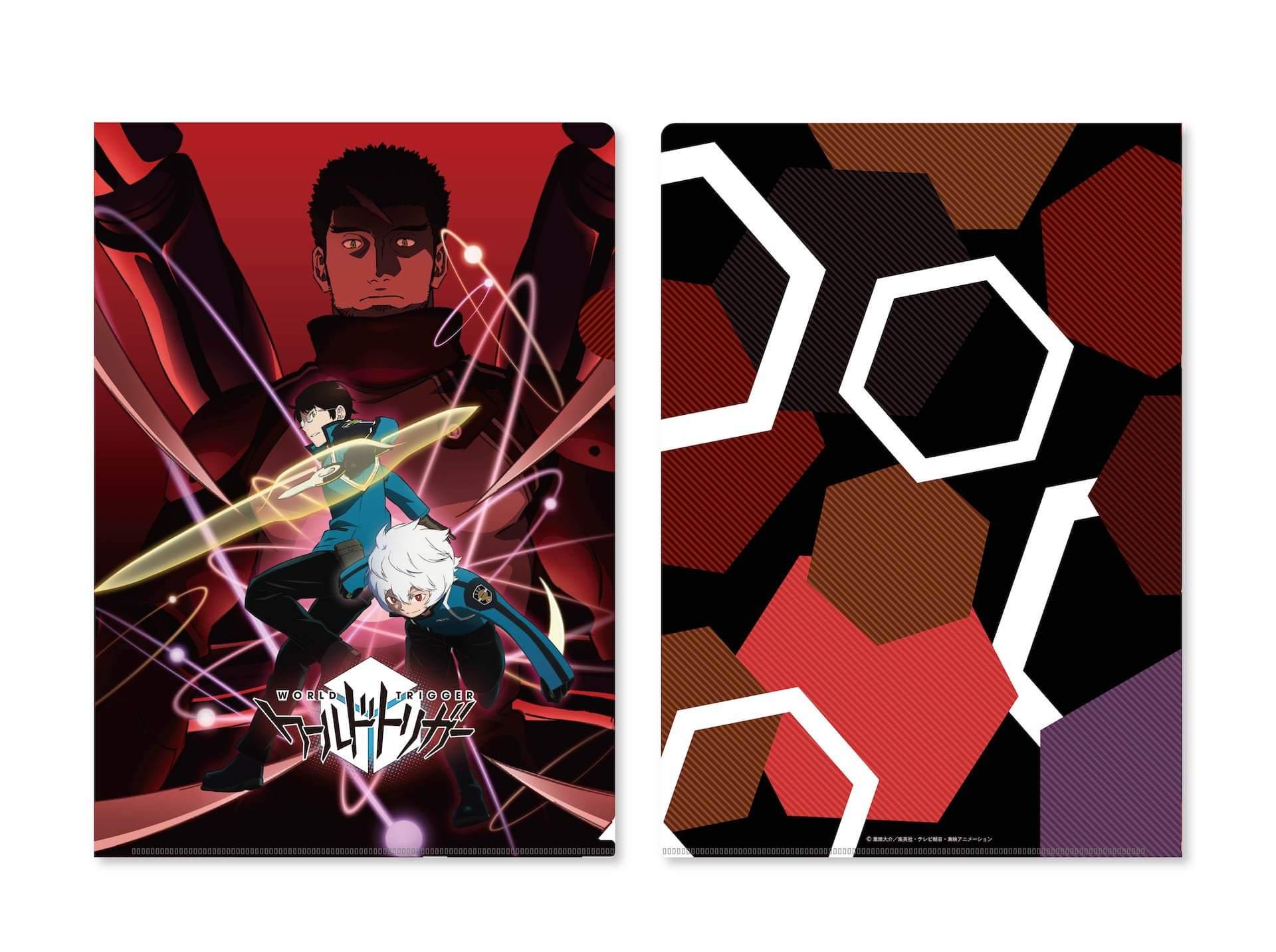 『特別上映版 ワールドトリガー 2ndシーズン』週替わりの入場者プレゼントが特製ポストカードに決定!公式パンフレット、オリジナルグッズも発売 film201210_worldtrigger_4