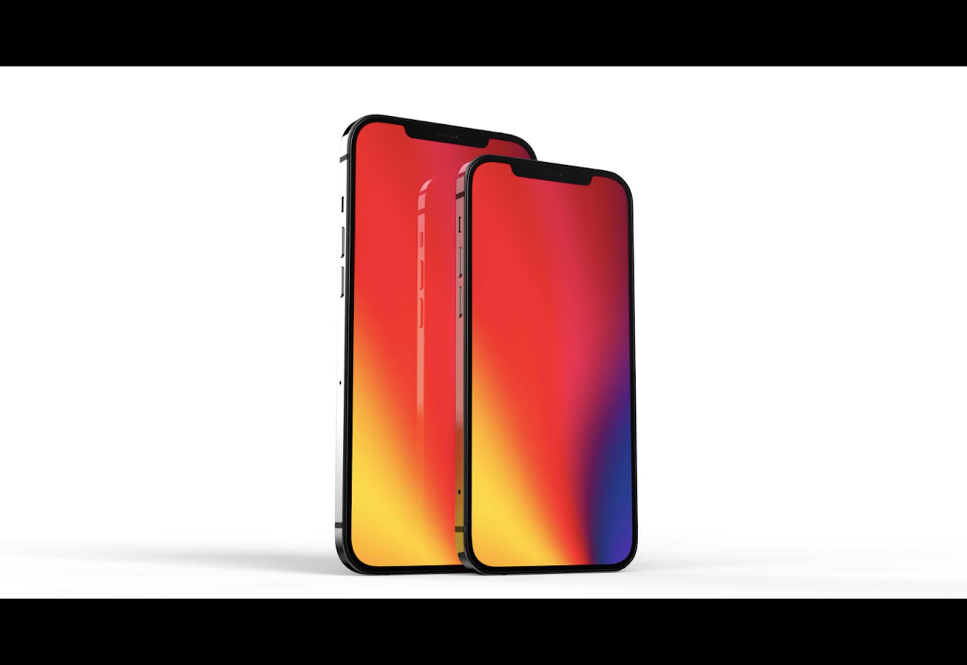 iPhone 13で指紋認証できるタッチスクリーンを採用?プロトタイプで画面下Touch ID搭載の2モデルを開発中か tech201214_iphone13_main