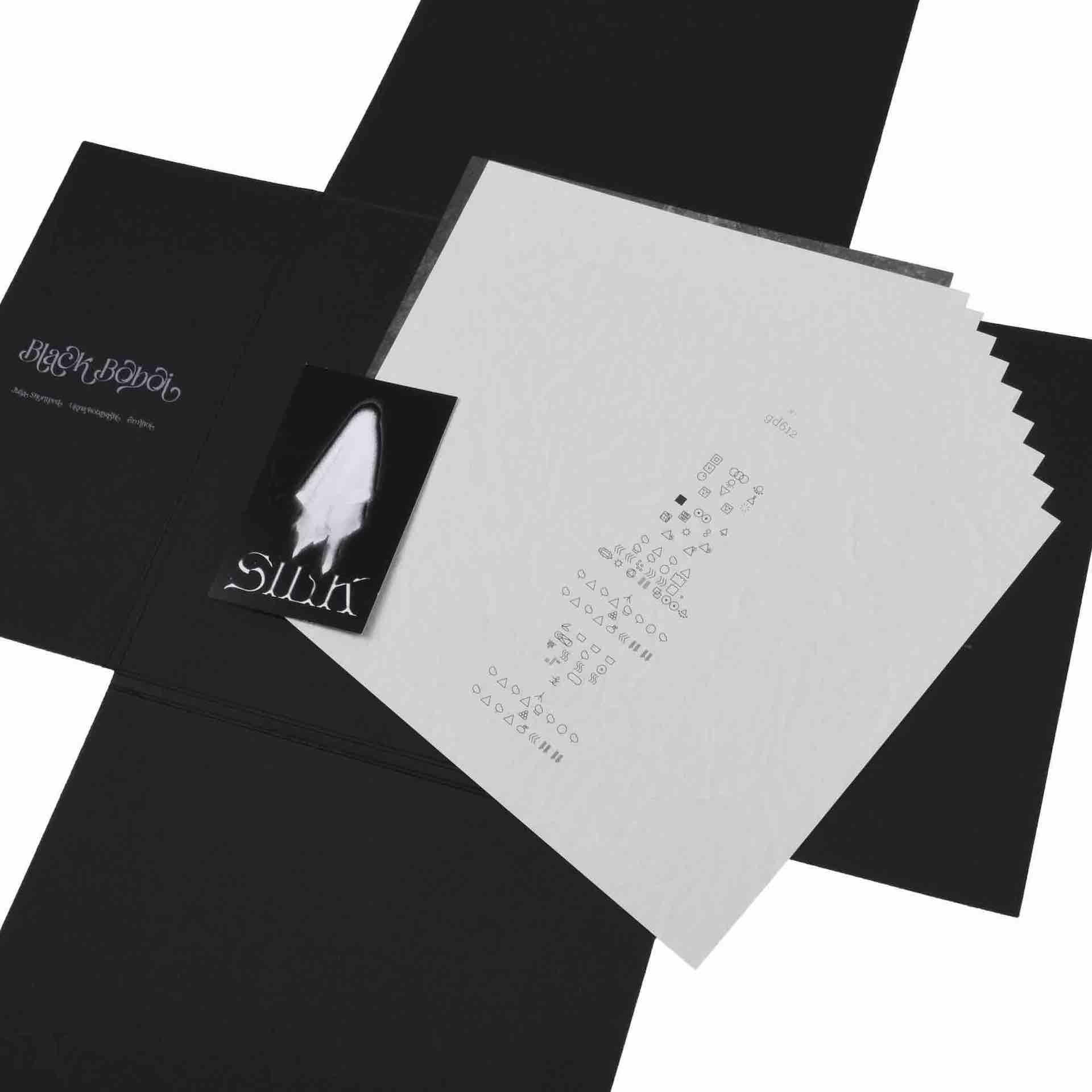Black Boboi最新アルバム『SILK』のDLコード付きリリックブックが発売!公式ロンT、フーディー、スカーフも受注受付スタート music201214_blackboboi_8-1920x1920