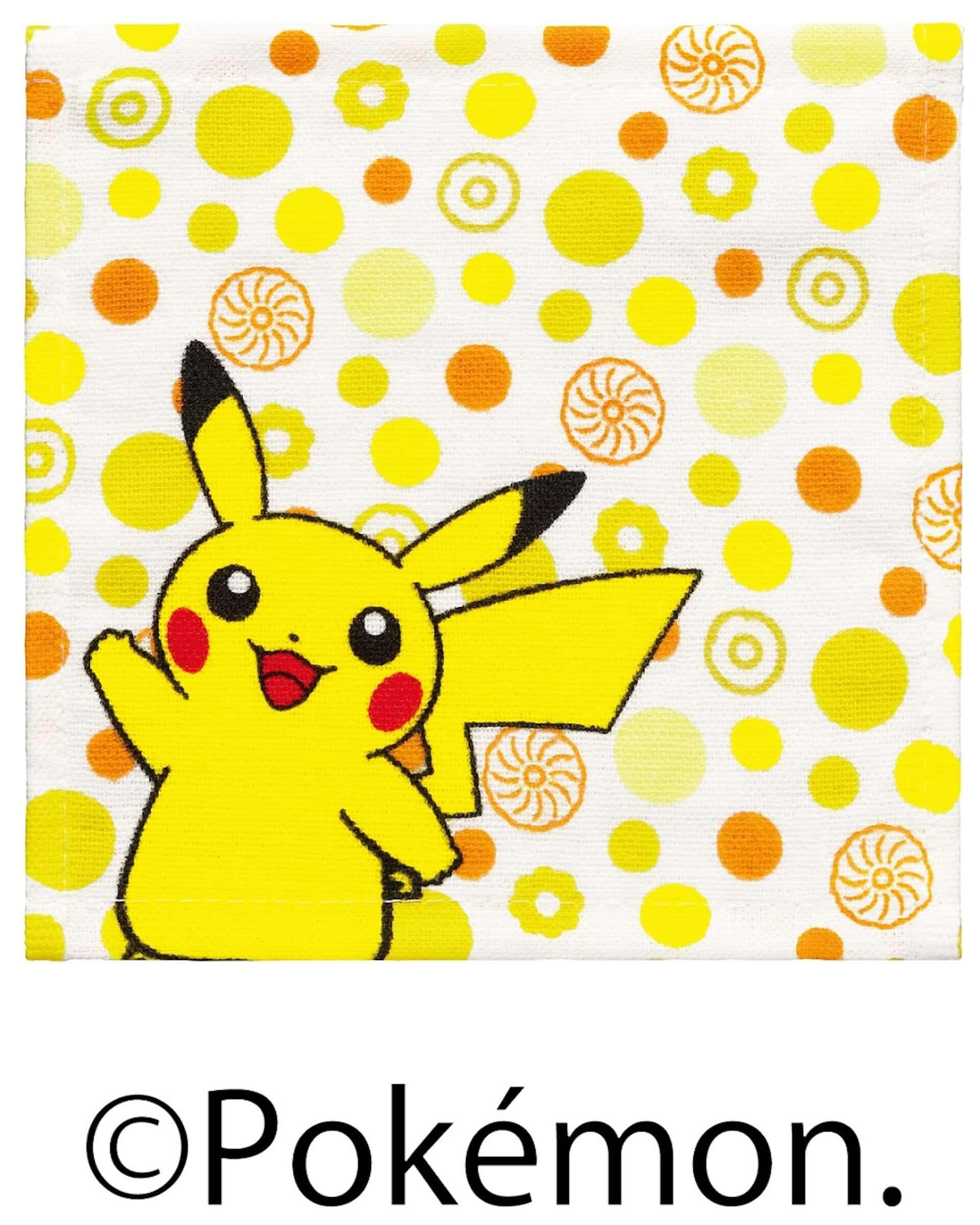ミスタードーナツの『ポケモン キッズセット』に数量限定の新グッズ・タオルハンカチが登場!デザインはピカチュウ、ラビフットなど4種展開 art201216_misterdonut-pokemon_4-1920x2400