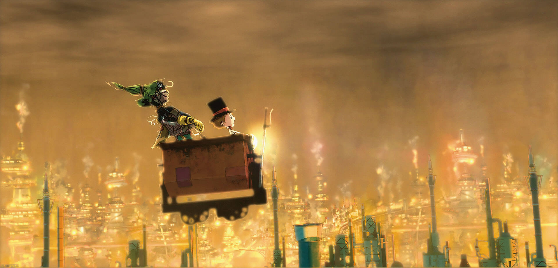 『映画 えんとつ町のプペル』の感動的な冒頭180秒が大公開!芦田愛菜演じるルビッチによるナレーションにも注目 film201216_poupelle_1