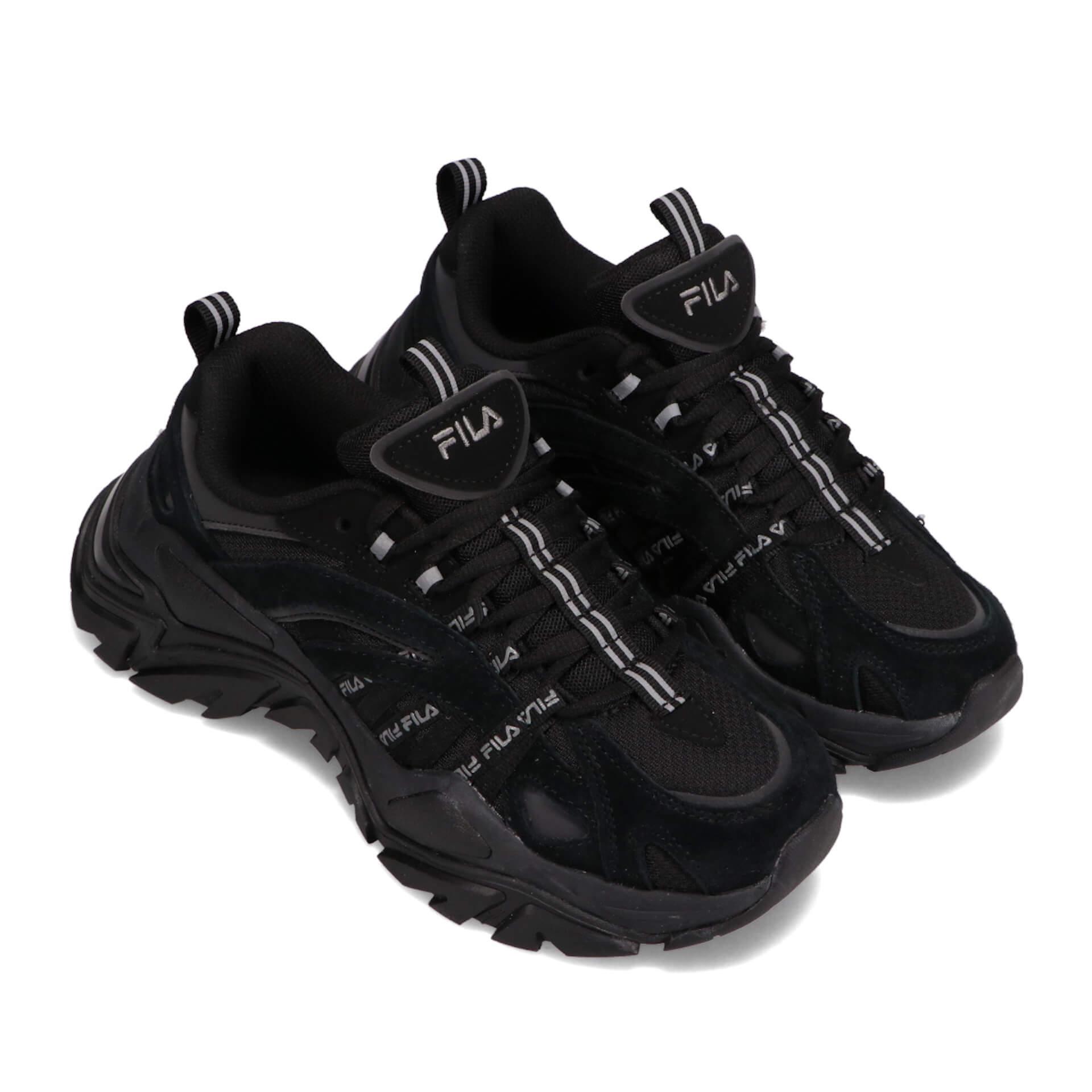 FILAの人気モデル『INTERATION』と『Z BUFFER2』にブラックベースが登場!『RAY RUN』ニューカラーもatmos系列限定で発売 fashion201216_atmos_fila_9