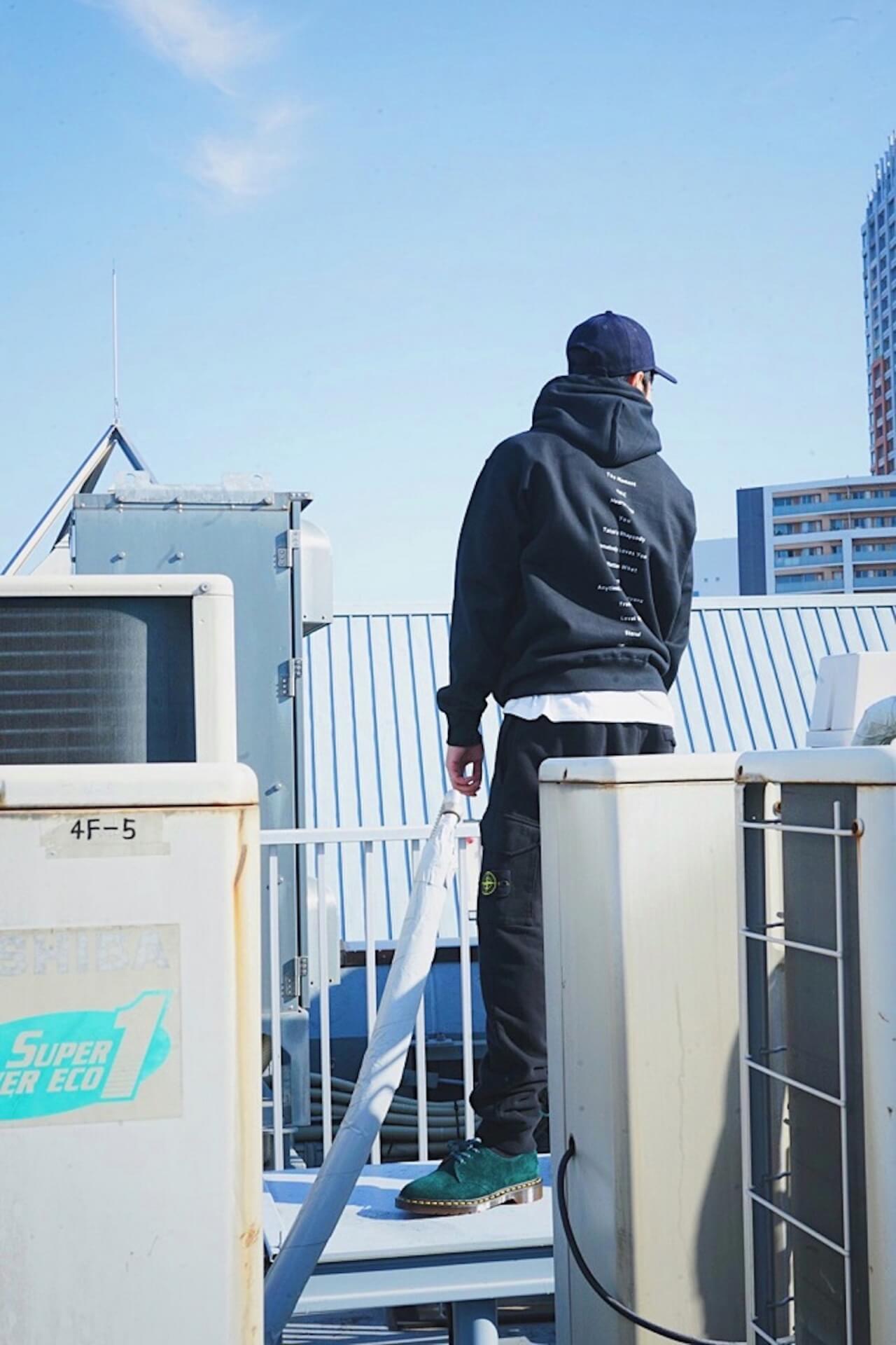 Ryohuの1st Album『DEBUT』リリースを記念したポップアップが開催決定!オカモトレイジリミックス曲付属のフーディーが登場 music201119_ryohu_debut_popup_3
