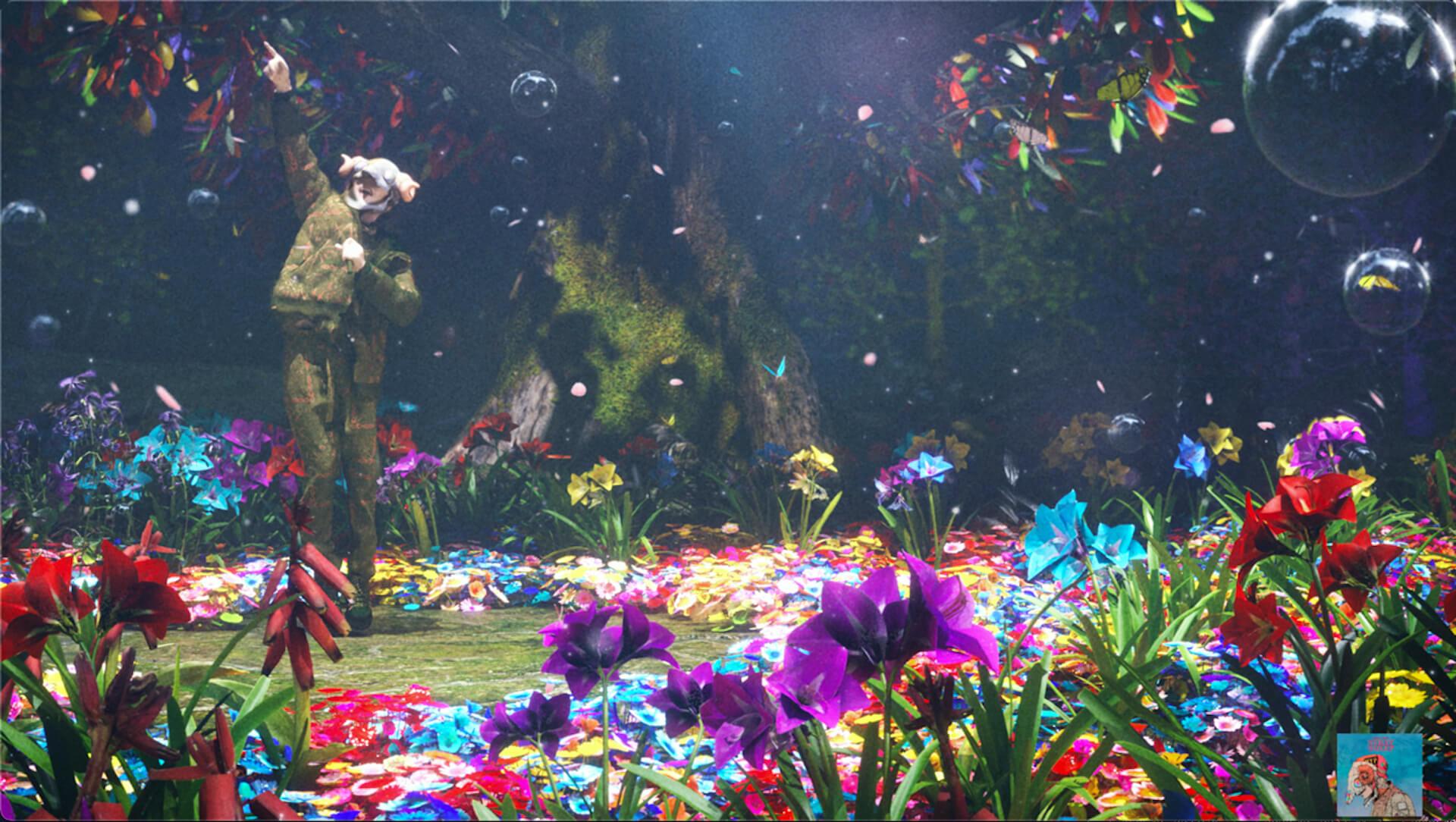 米津玄師『STRAY SHEEP』が2020年の音楽シーンを席巻!22冠達成で『フォートナイト』でのライブ映像を使用した新CMも放送開始 music201221_yonezukenshi_7