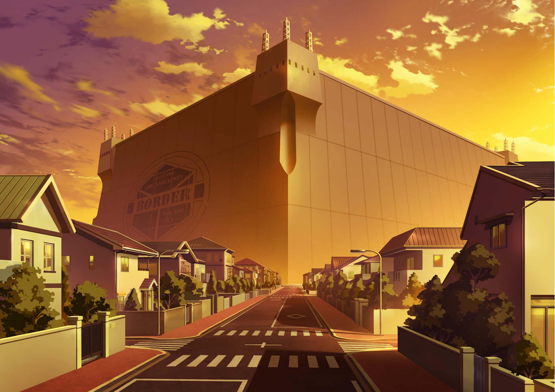 明日公開の『ワールドトリガー 2ndシーズン』より米屋、二宮、忍田本部長らが躍動する新場面写真が到着!貴重な美術設定画も一部初解禁 film201224_worldtrigger_9-1920x1356
