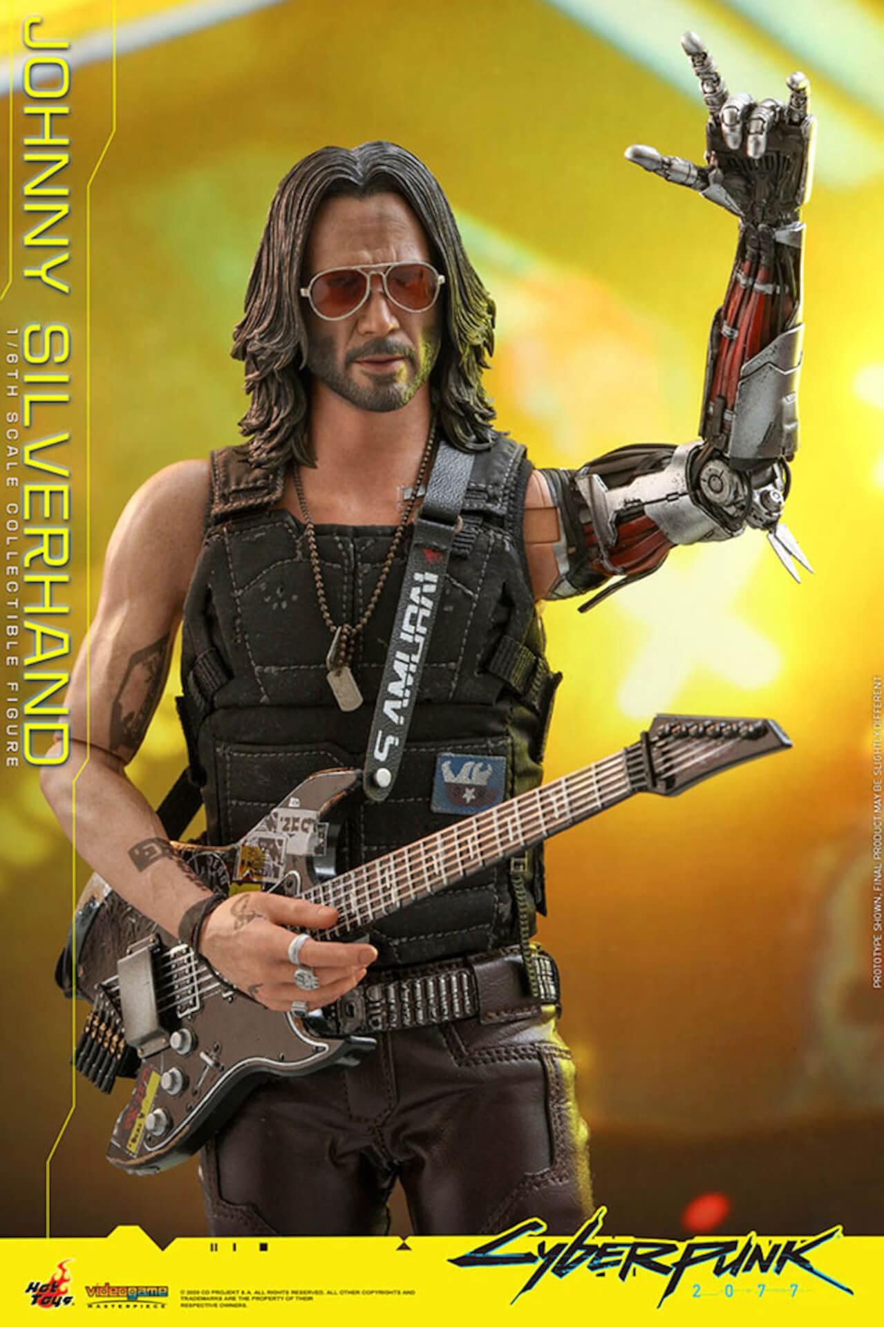 ホットトイズからキアヌ・リーブス演じる『サイバーパンク2077』のジョニーが超精巧なフィギュアになって登場! art201223_cyberpunk2077_3