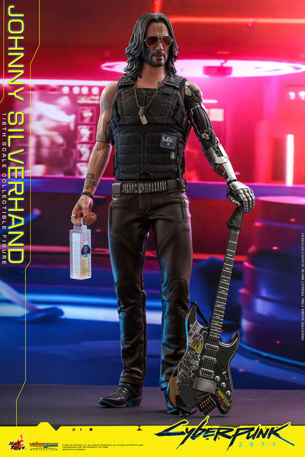 ホットトイズからキアヌ・リーブス演じる『サイバーパンク2077』のジョニーが超精巧なフィギュアになって登場! art201223_cyberpunk2077_4