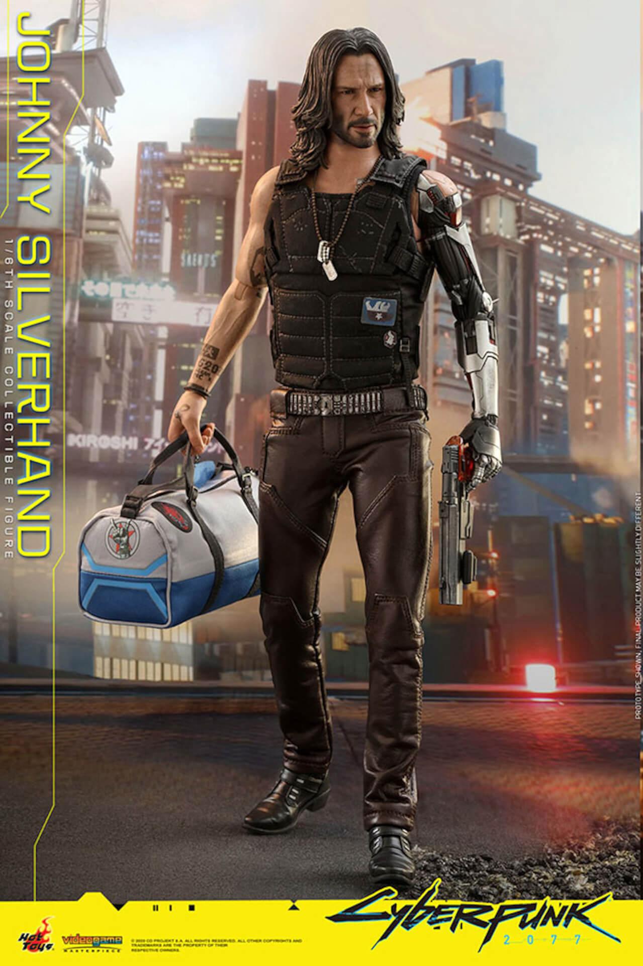 ホットトイズからキアヌ・リーブス演じる『サイバーパンク2077』のジョニーが超精巧なフィギュアになって登場! art201223_cyberpunk2077_5