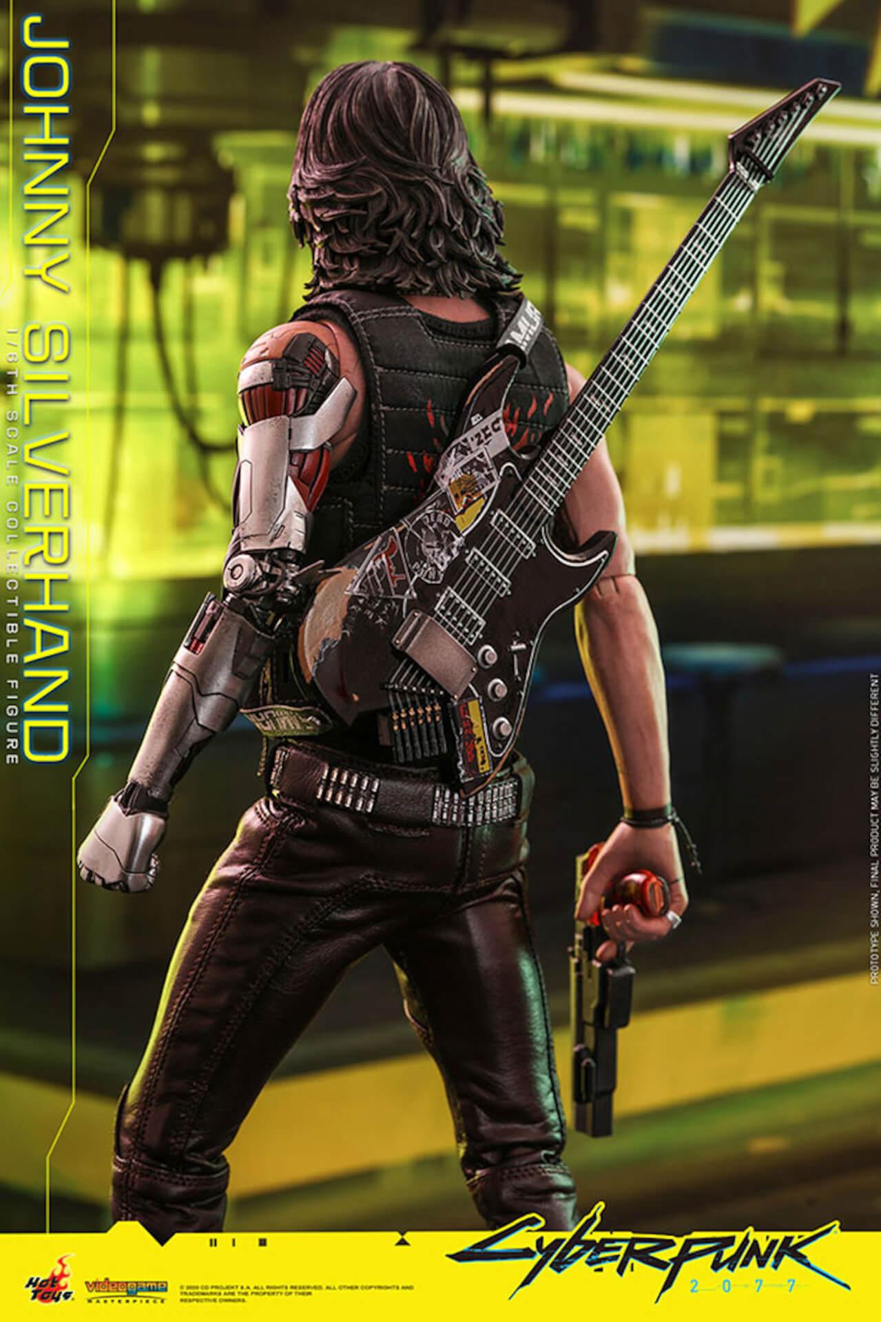 ホットトイズからキアヌ・リーブス演じる『サイバーパンク2077』のジョニーが超精巧なフィギュアになって登場! art201223_cyberpunk2077_6