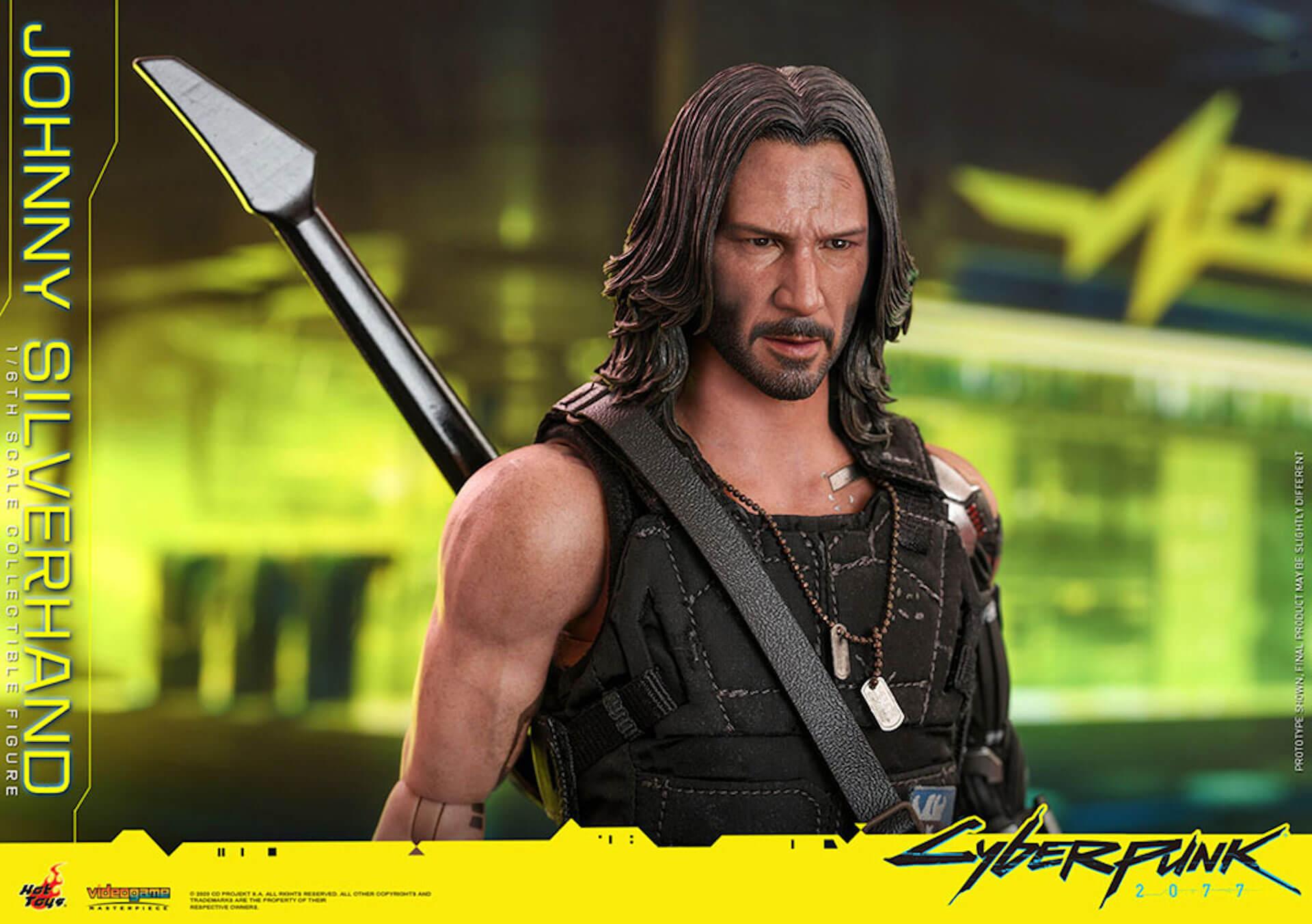 ホットトイズからキアヌ・リーブス演じる『サイバーパンク2077』のジョニーが超精巧なフィギュアになって登場! art201223_cyberpunk2077_2