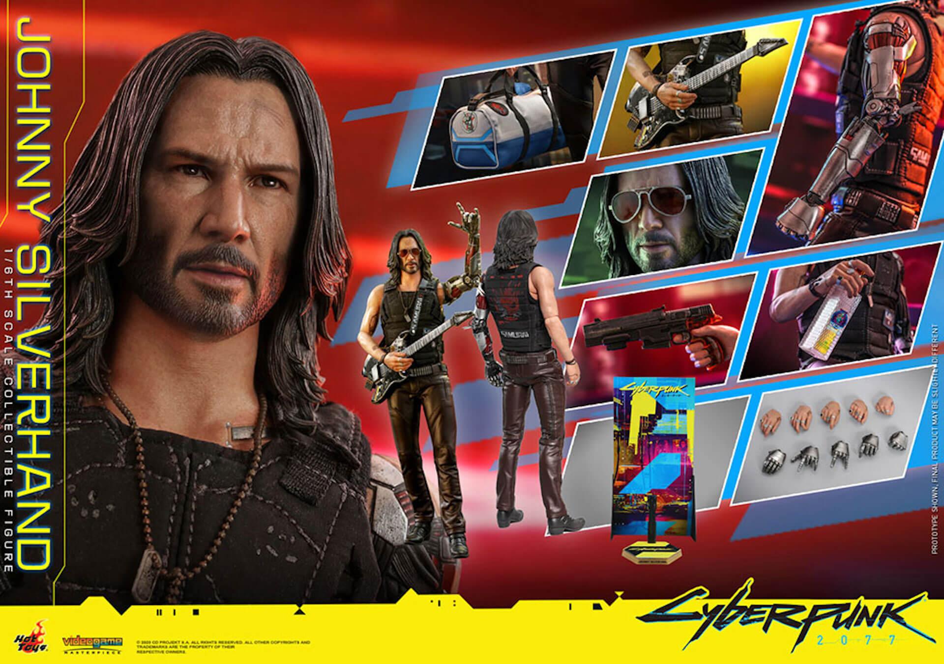 ホットトイズからキアヌ・リーブス演じる『サイバーパンク2077』のジョニーが超精巧なフィギュアになって登場! art201223_cyberpunk2077_1