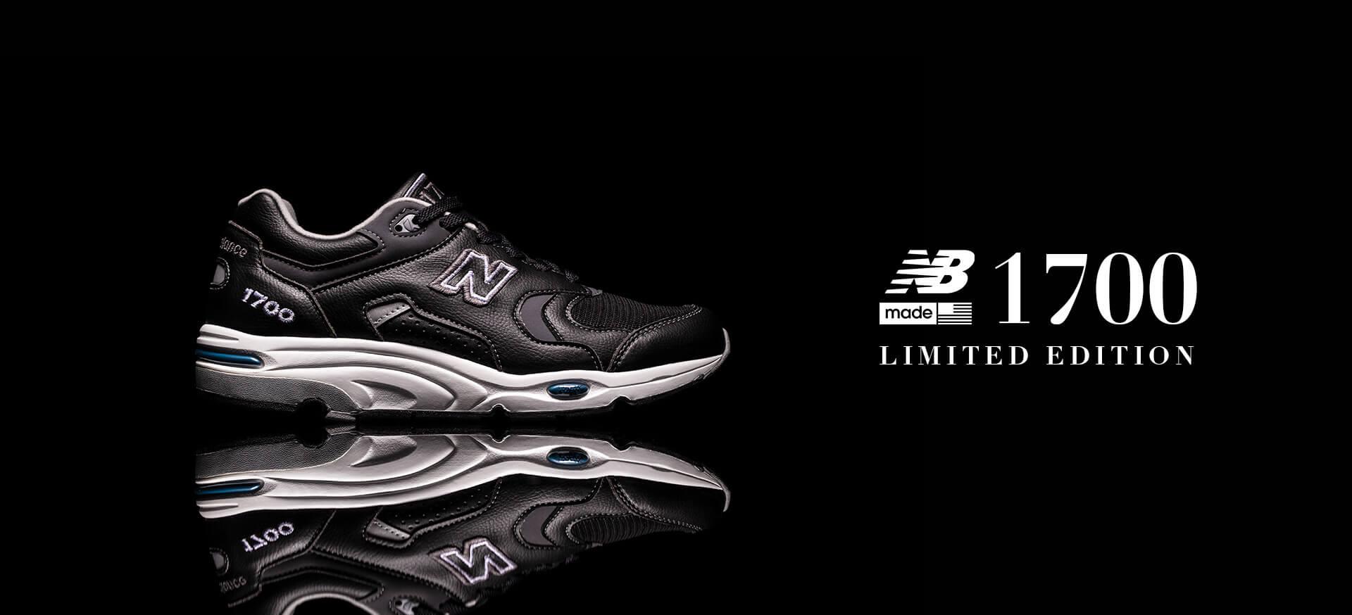 人気のニューバランスフラッグシップモデル「M1700」にシックなブラックカラーが登場!本日原宿店で先行発売 life201224_newbalance_m1700_3