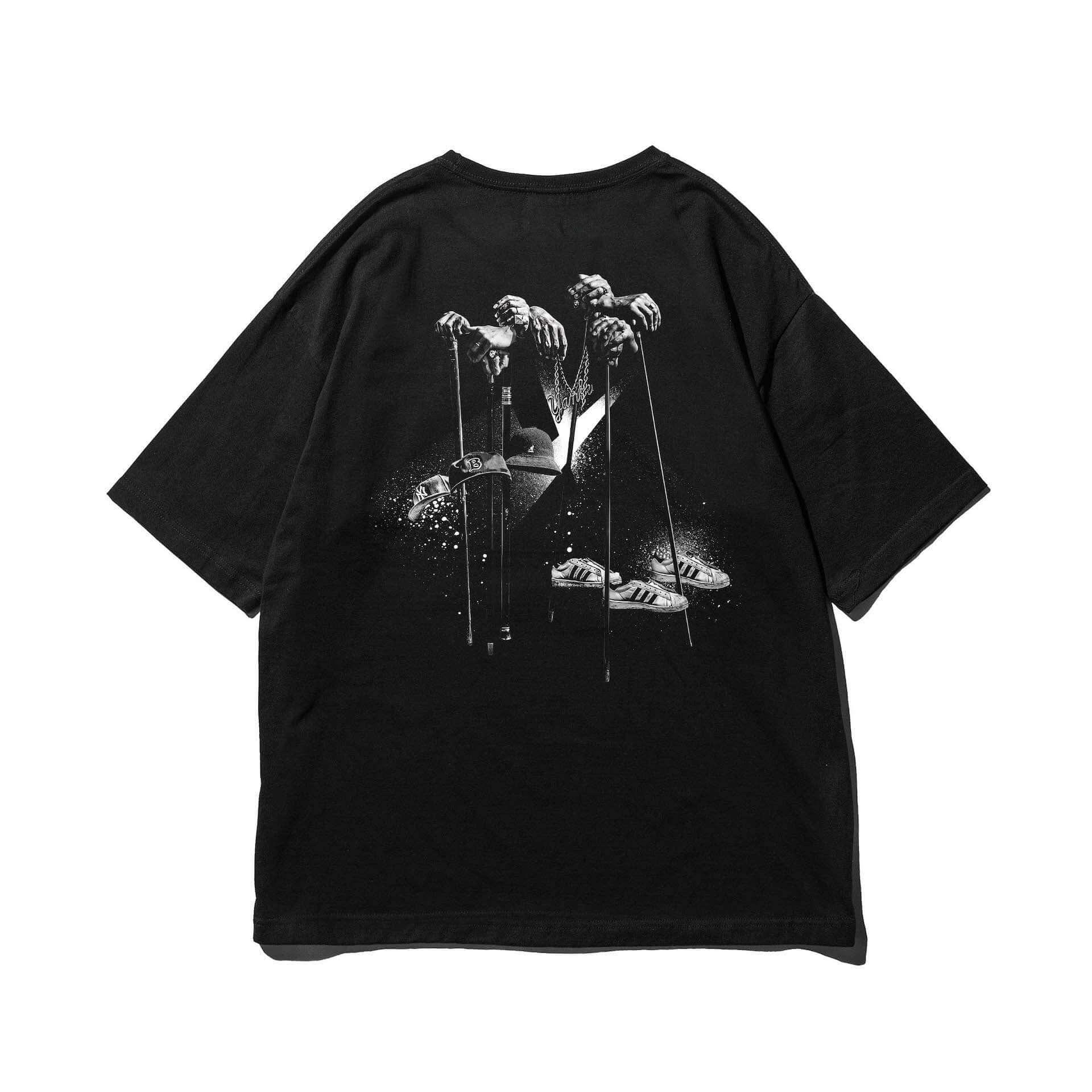 """スチャダラパーとライムスターによるコラボ曲""""Forever Young""""のTシャツがリリース!ビッグシルエットの白/黒ボディが登場 lf201224_sdp-rhymester_3-1920x1920"""