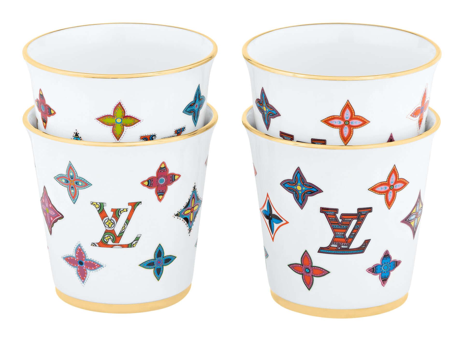 ルイ・ヴィトンの新作ギフトコレクションに陶器製のプレートセットが登場!ポップなミニカップセットも同時発売 lf201225_louisvuitton_2-1920x1411