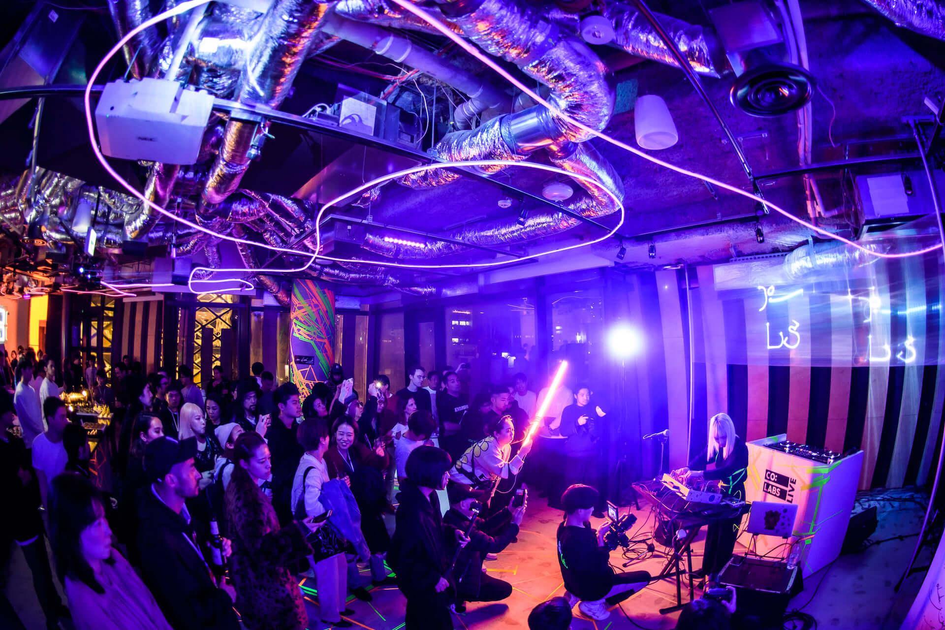 エッジィなメディア「CO:LABS」によるクリエイティブコラボパーティー<CO:LABS LIVE>に潜入! music-colabslive-5867-1920x1280