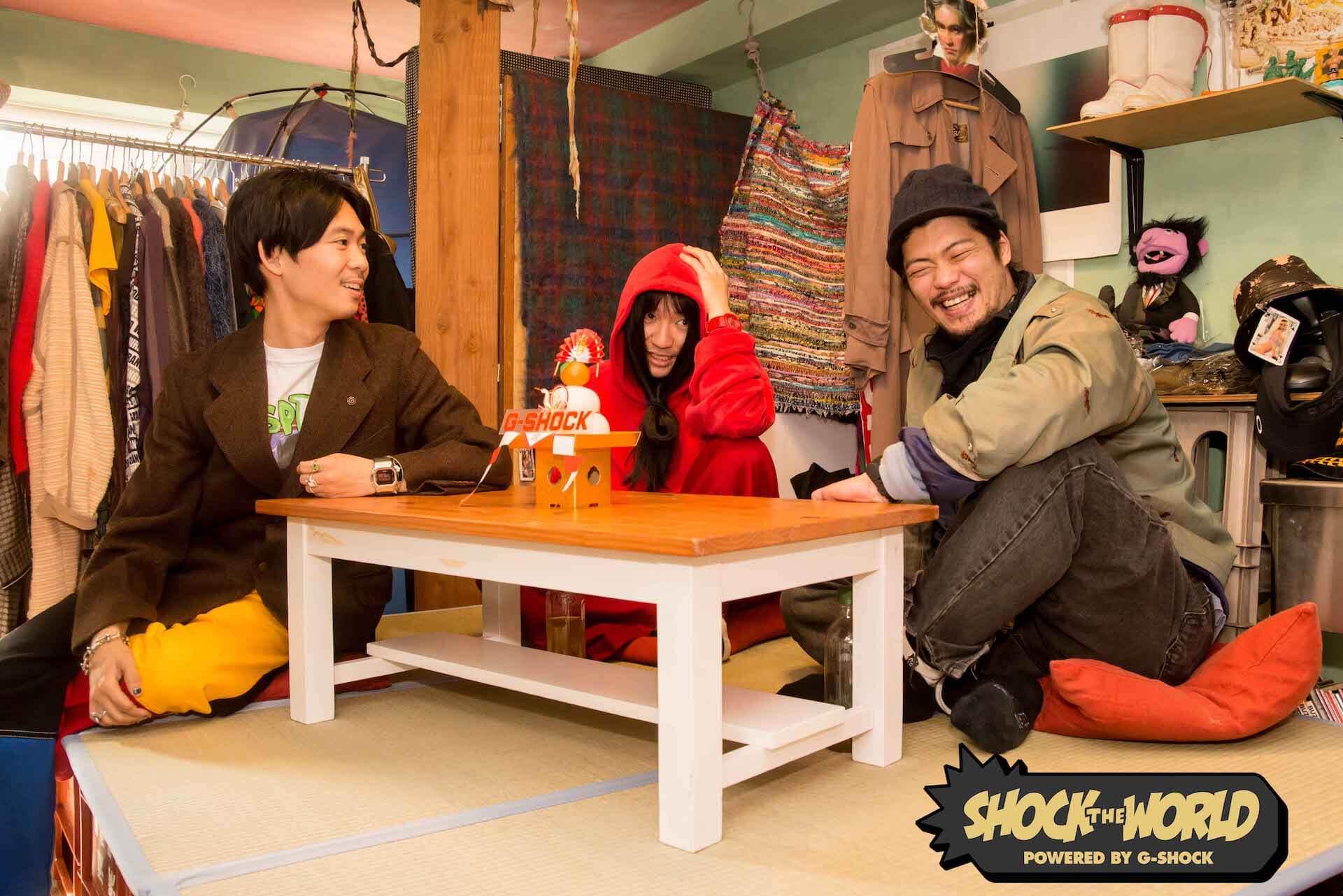 G-SHOCKが手がける新たな番組『SHOCK THE WORLD』がYouTubeで配信決定!第1弾にオカモトレイジ、マヒトゥ・ザ・ピーポー、奥冨直人が登場 life201228_shocktheworld_2