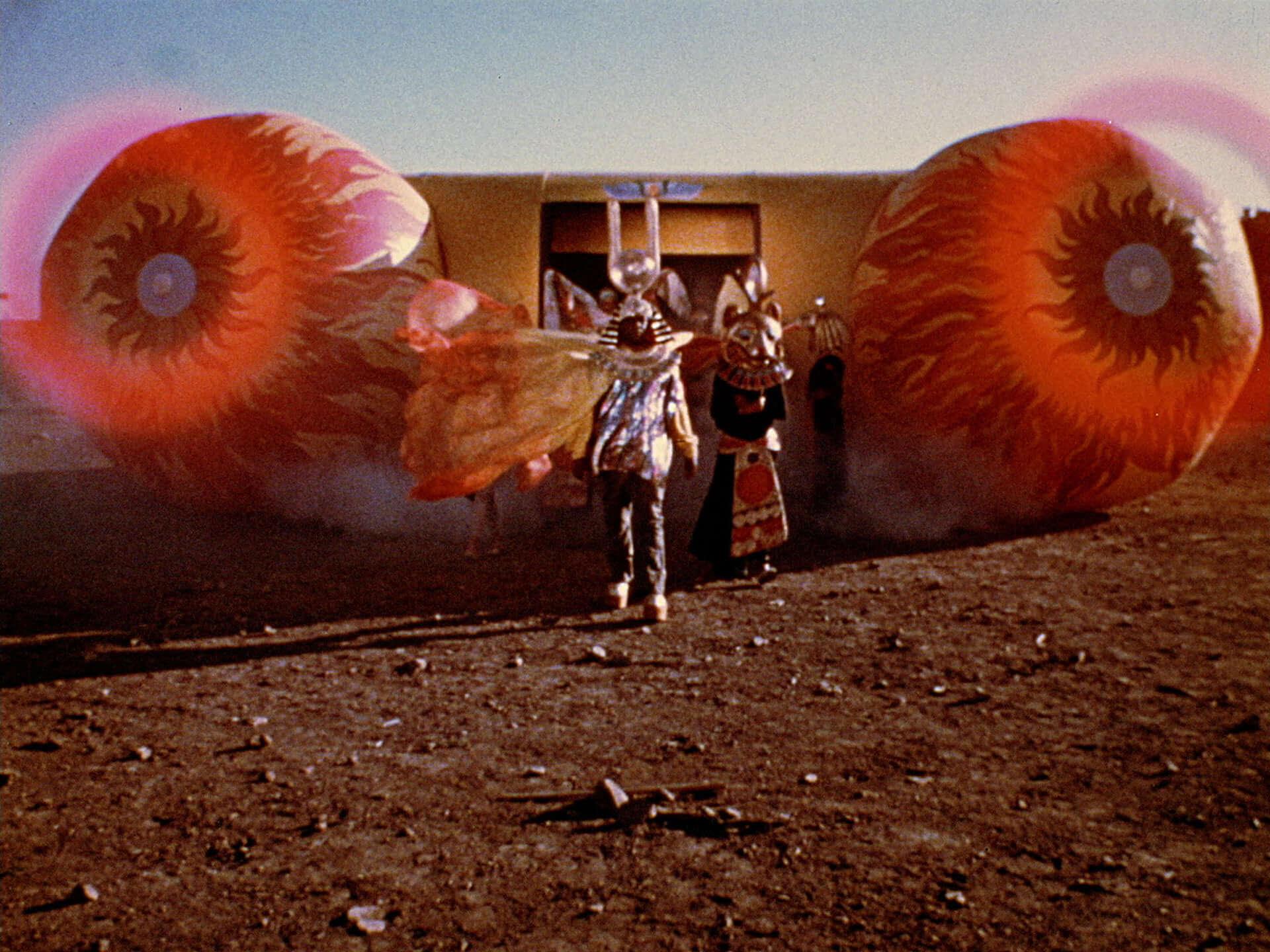 Sun Raの演奏によるソウルパワーで会場が大変なことに!映画『サン・ラーのスペース・イズ・ザ・プレイス』のライブシーンが解禁 film210108_sunra_1-1920x1440