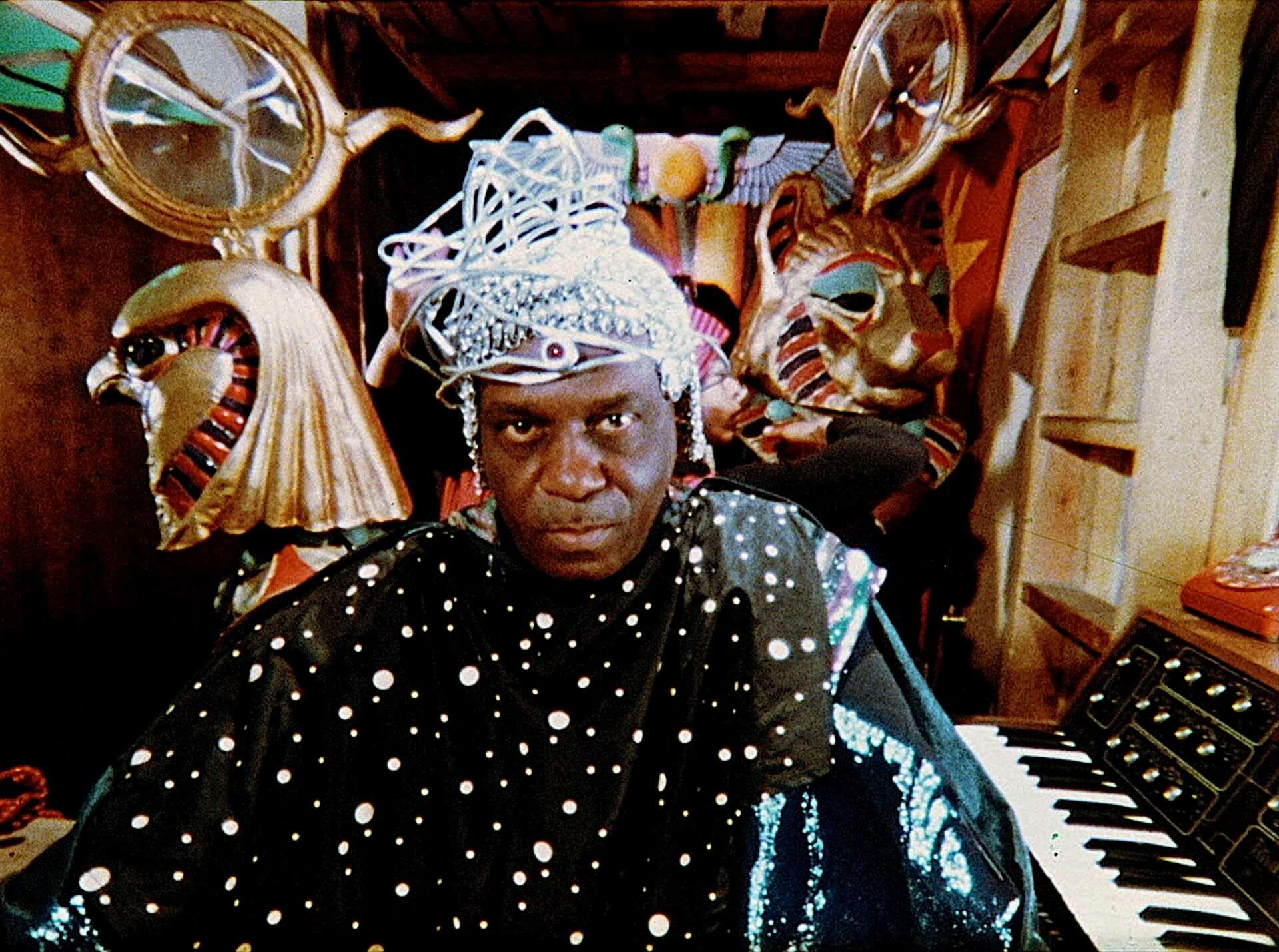 Sun Raの演奏によるソウルパワーで会場が大変なことに!映画『サン・ラーのスペース・イズ・ザ・プレイス』のライブシーンが解禁 film210108_sunra_4-1920x1429