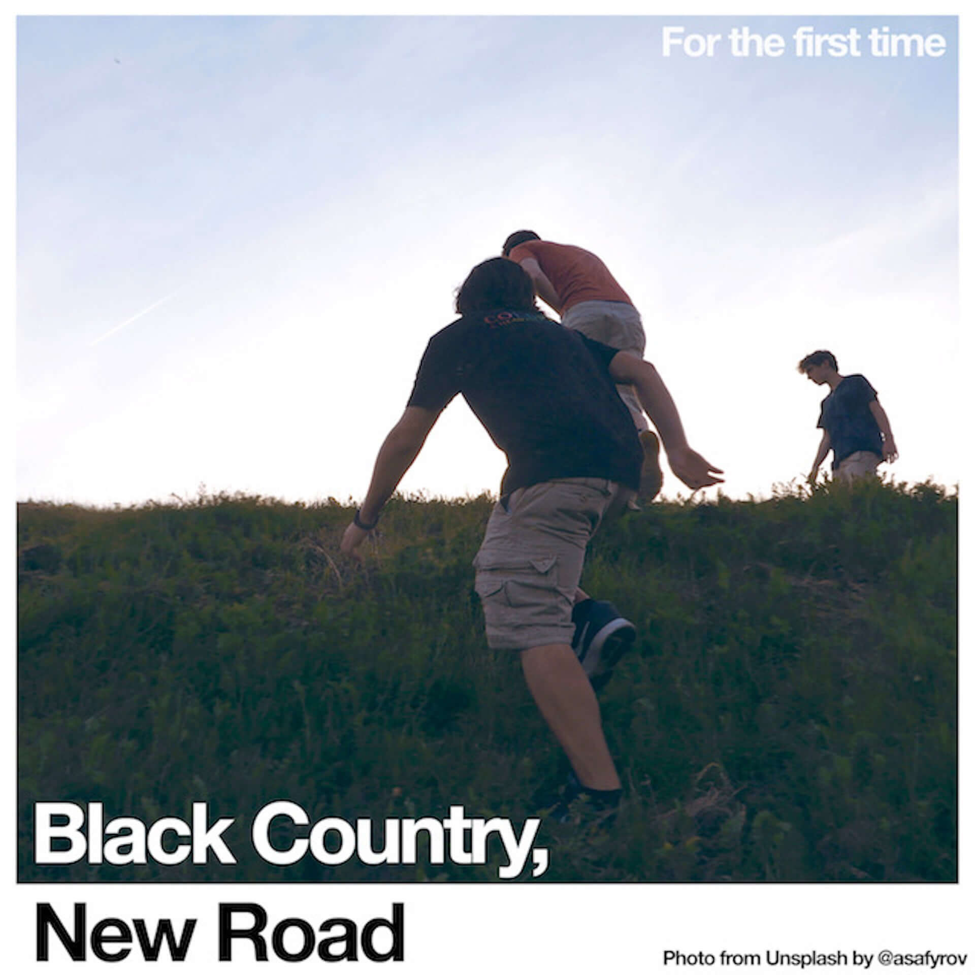 "Black Country, New Roadのデビュー作『For the first time』より新曲""Track X""が公開!日本語字幕付きMVも解禁 music210112_bcnr_3-1920x1920"