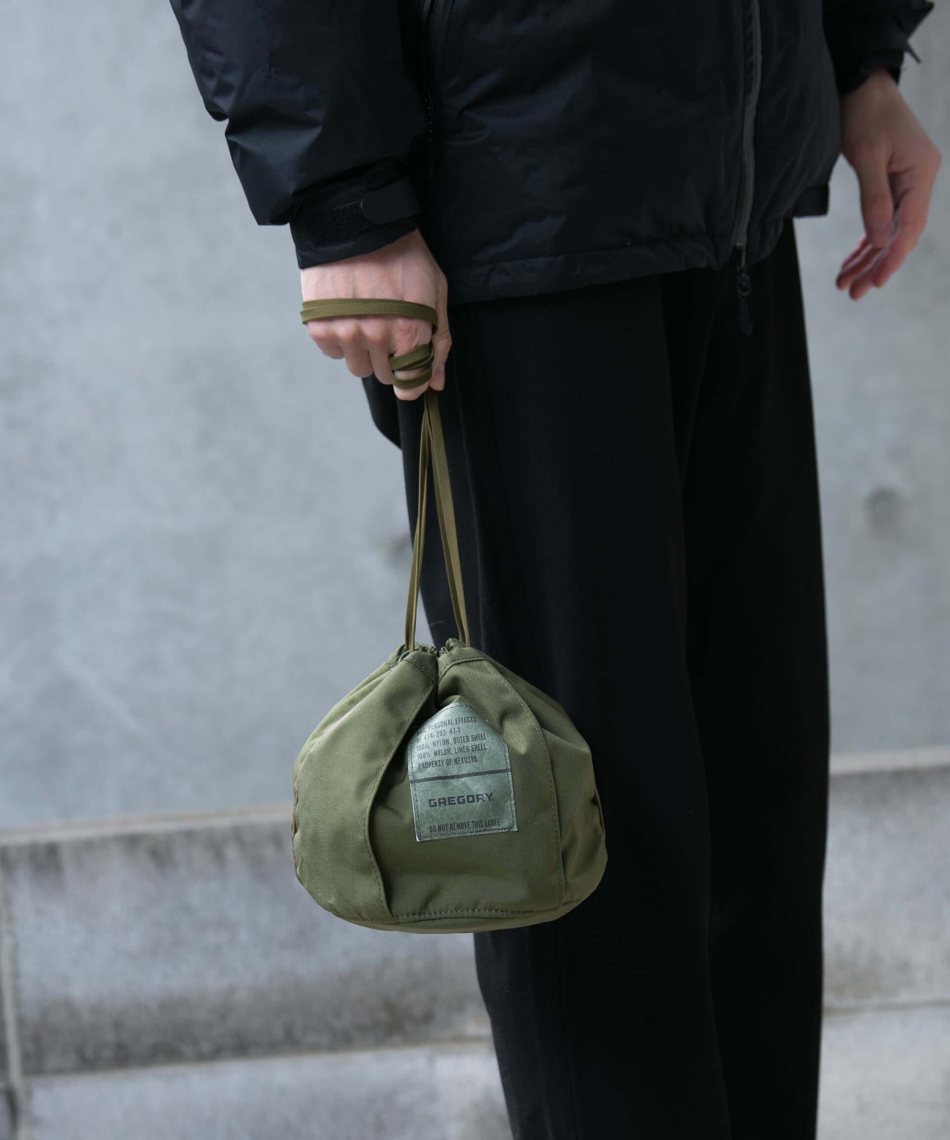 GREGORYとNEXUSVII.による特別コレクション「MILITARY PACK」に新作が登場!巾着型バッグ、ウエストバッグが数量限定で発売決定 lf210113_militarypack_2-1920x2304
