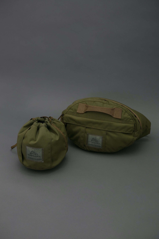 GREGORYとNEXUSVII.による特別コレクション「MILITARY PACK」に新作が登場!巾着型バッグ、ウエストバッグが数量限定で発売決定 lf210113_militarypack_4-1920x2880