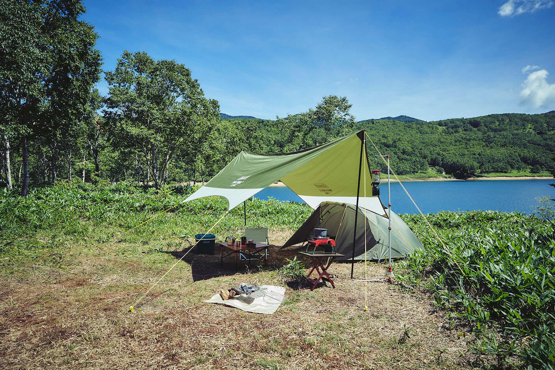ソロキャンプにもおすすめなテント、ヘキサタープがコールマンから登場!『ツーリングドーム』『ヘキサライトⅡ』など全4種が発売決定 lf210114_coleman_2-1920x1280