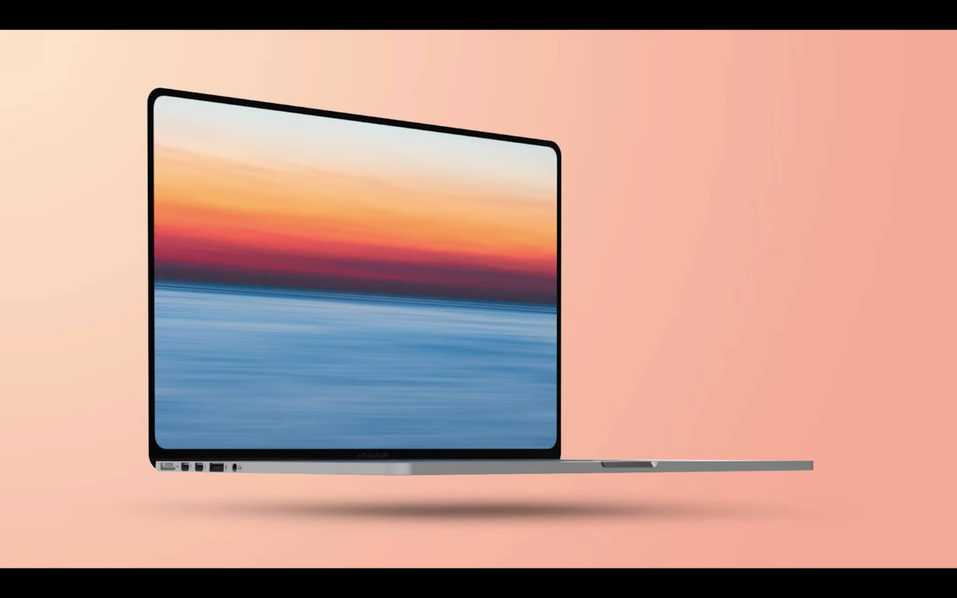 今年第3四半期登場のMacBook Proはこんなデザインに?リーク情報を基にしたコンセプト画像が公開 tech210118_macbookpro_main
