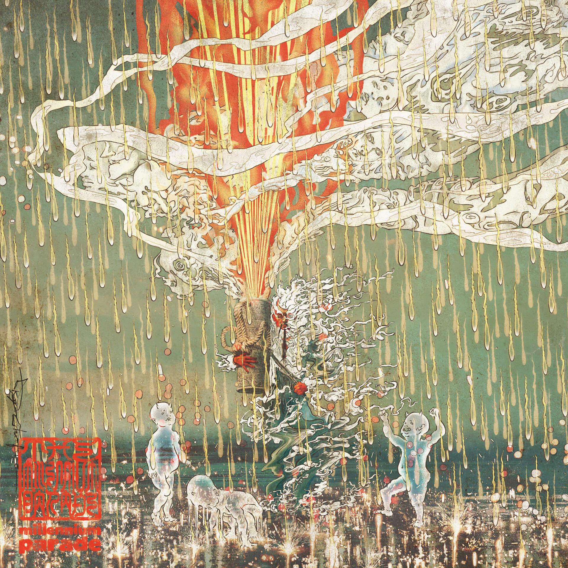 """常田大希率いるmillennium paradeの新曲""""FAMILIA""""が配信開始&MV解禁!『ヤクザと家族 The Family』の綾野剛らも出演 music210120_millenniumparade_9"""