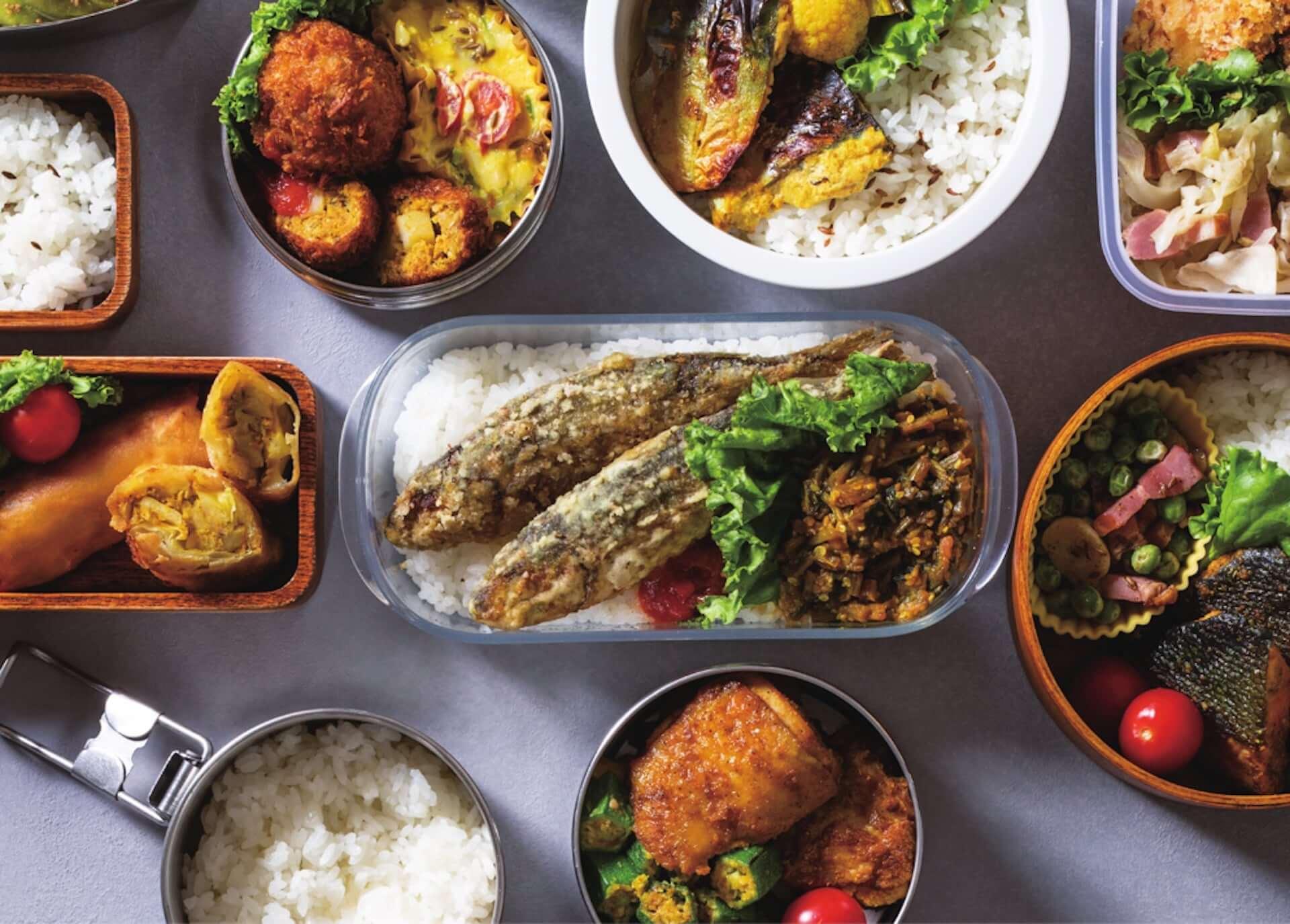 美味しい・簡単・ヘルシーを実現する「スパイス弁当」の魅力とは?印度カリー子が自身初のお弁当レシピ本『一肉一菜スパイス弁当』を発売 gourmet210122_spice-bento_1-1920x1375