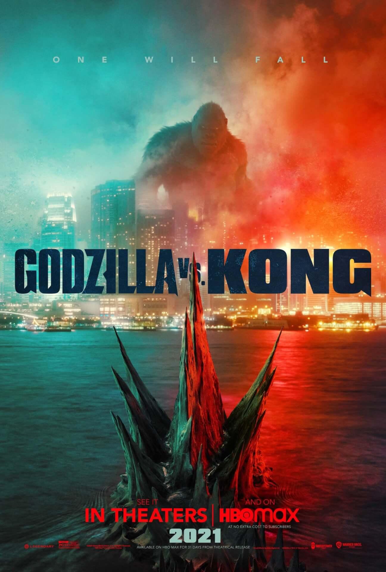 ついにゴジラとキングコングが相対する...『ゴジラ vs. コング』の米ポスターが解禁! film210122_godzilla_kong_main