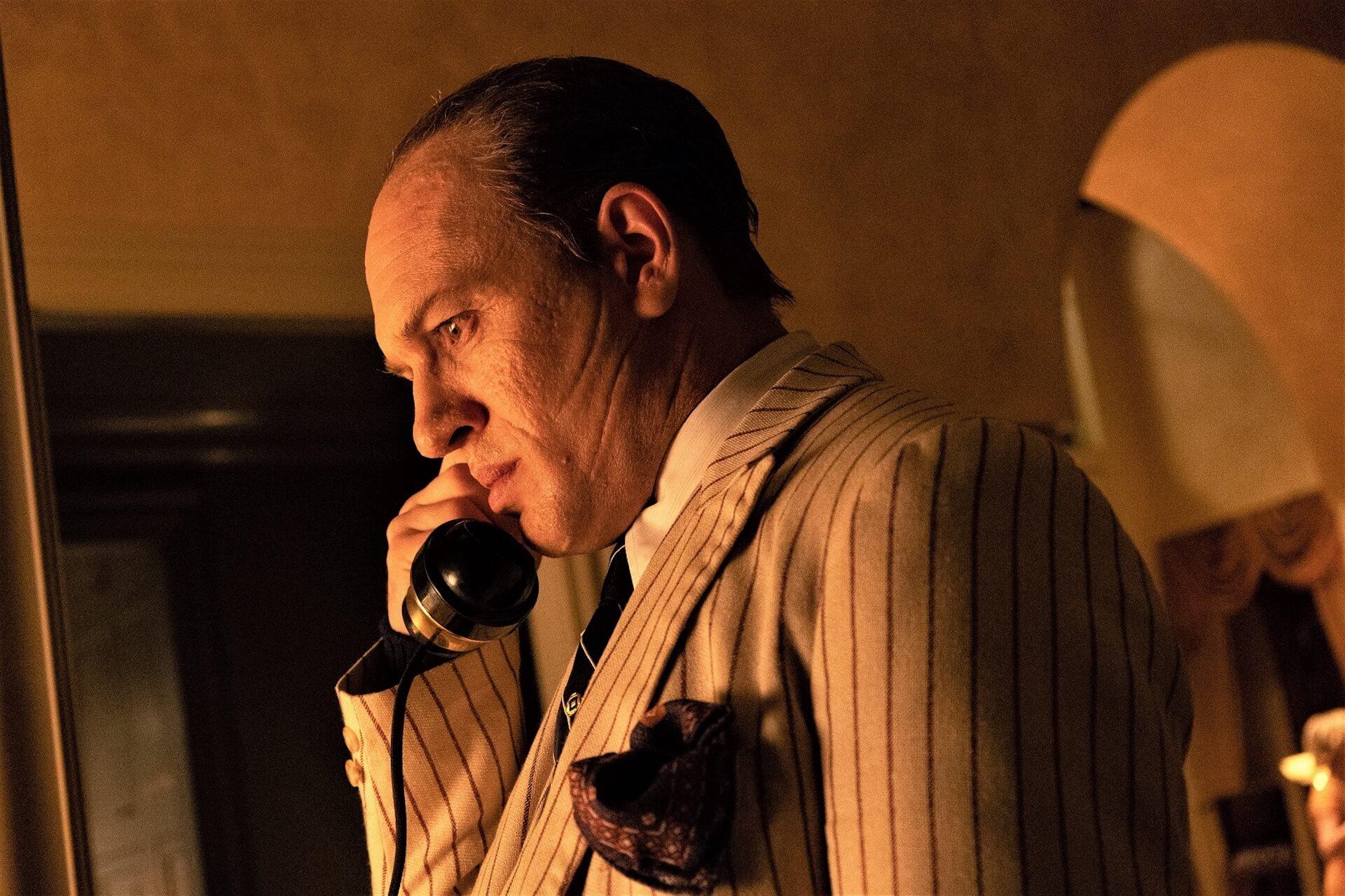 晩年のアル・カポネを演じるトム・ハーディの魅力に迫る!『カポネ』の新場面写真&特別エピソードが到着 film210125_capone_4