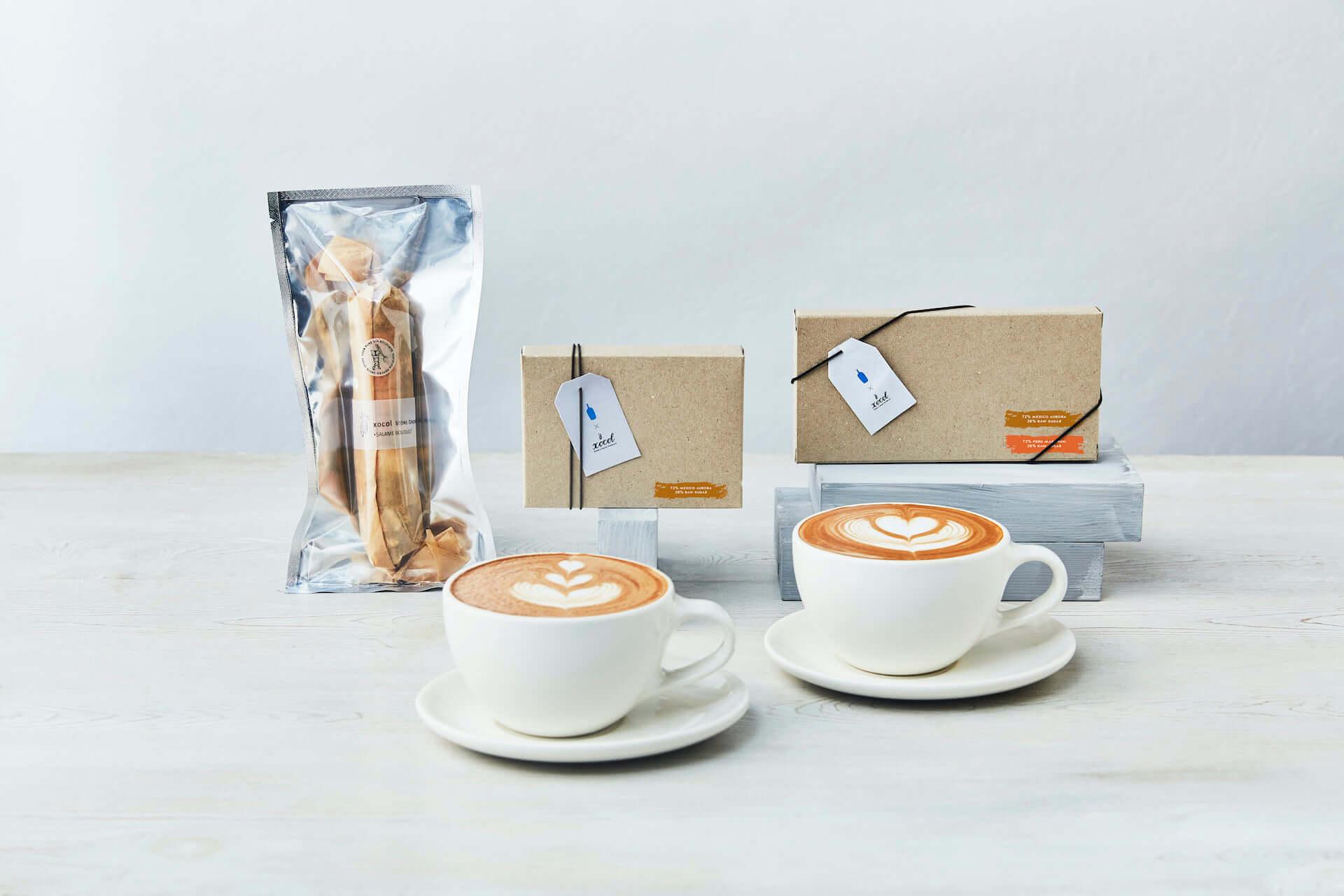 ブルーボトルコーヒーとショコルがコラボ!シングルオリジンカカオを使用したドリンク&チョコレートが数量限定で登場 gourmet210125_bluebottlecoffee_2-1920x1280