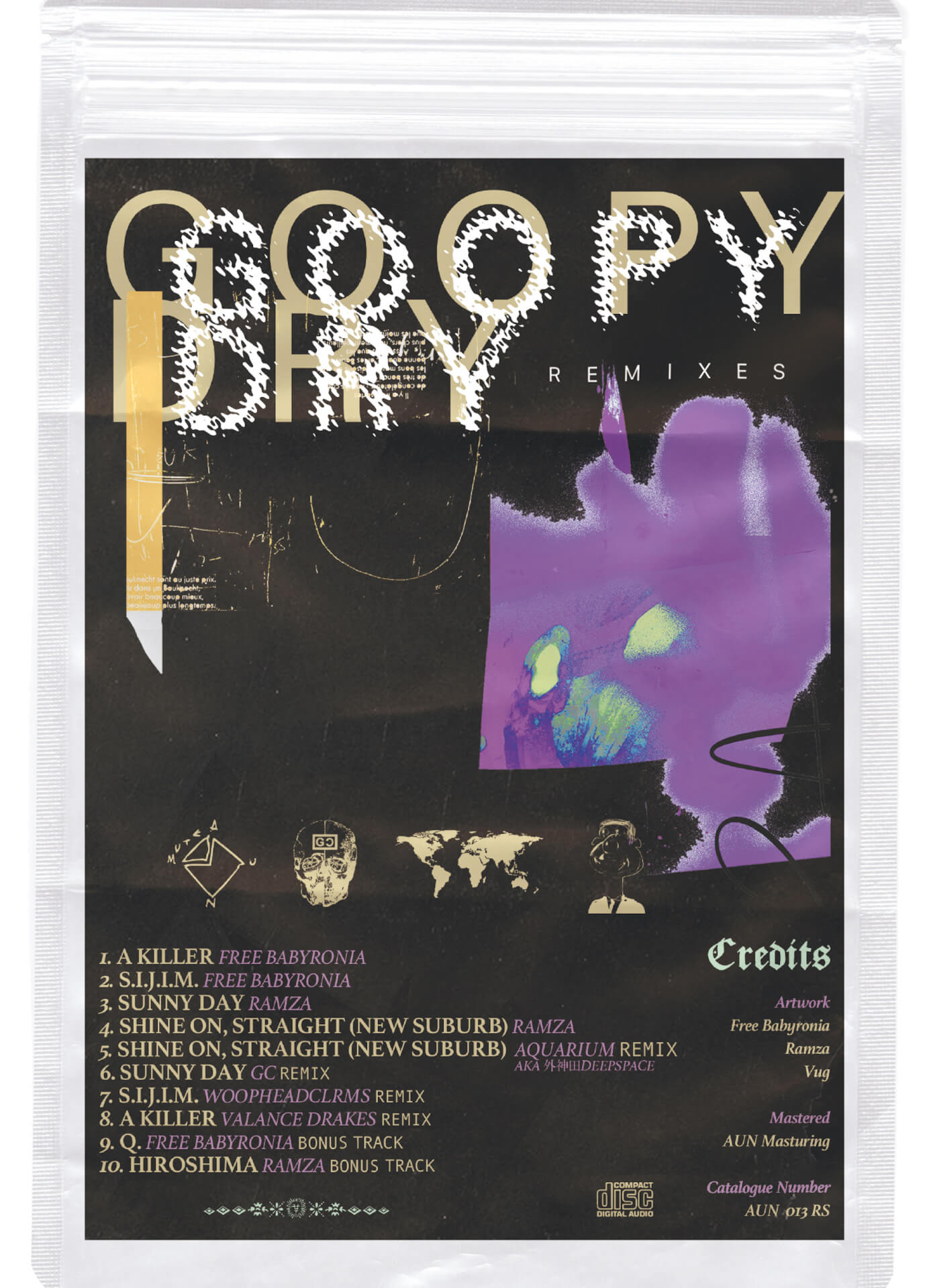 Free Babyronia&RamzaによるEP『GOOPY DRY』のリミックス盤が発売決定!未発表曲も収録 music210126_freebabyronia_ramza_1