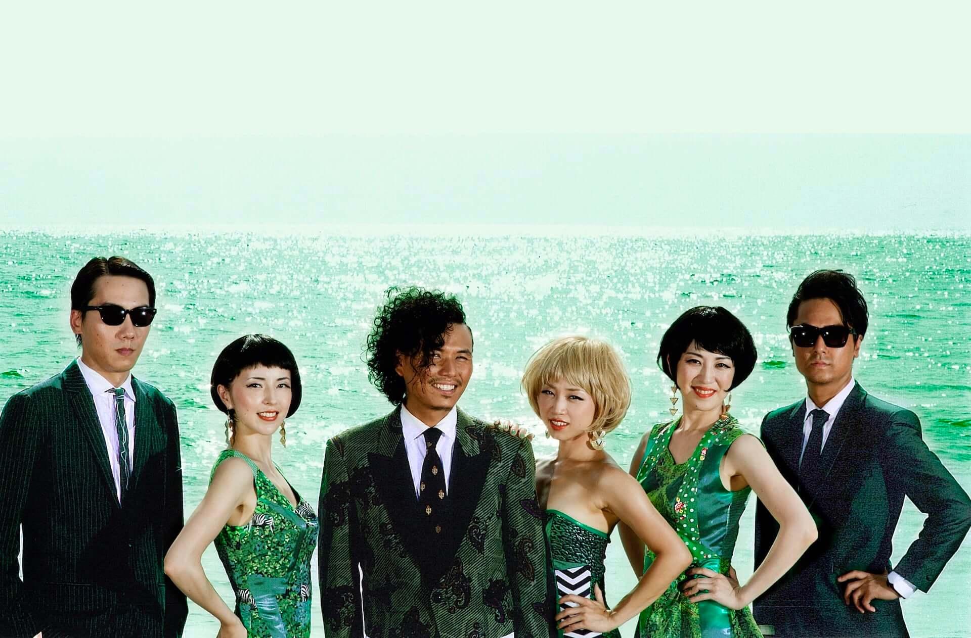 """一十三十一、Kashifら擁する6人組バンド・JINTANA&EMERALDSが最新シングル""""Oh! Southern Wind""""をリリース! music210127_jintanaandemeralds_1-1920x1263"""