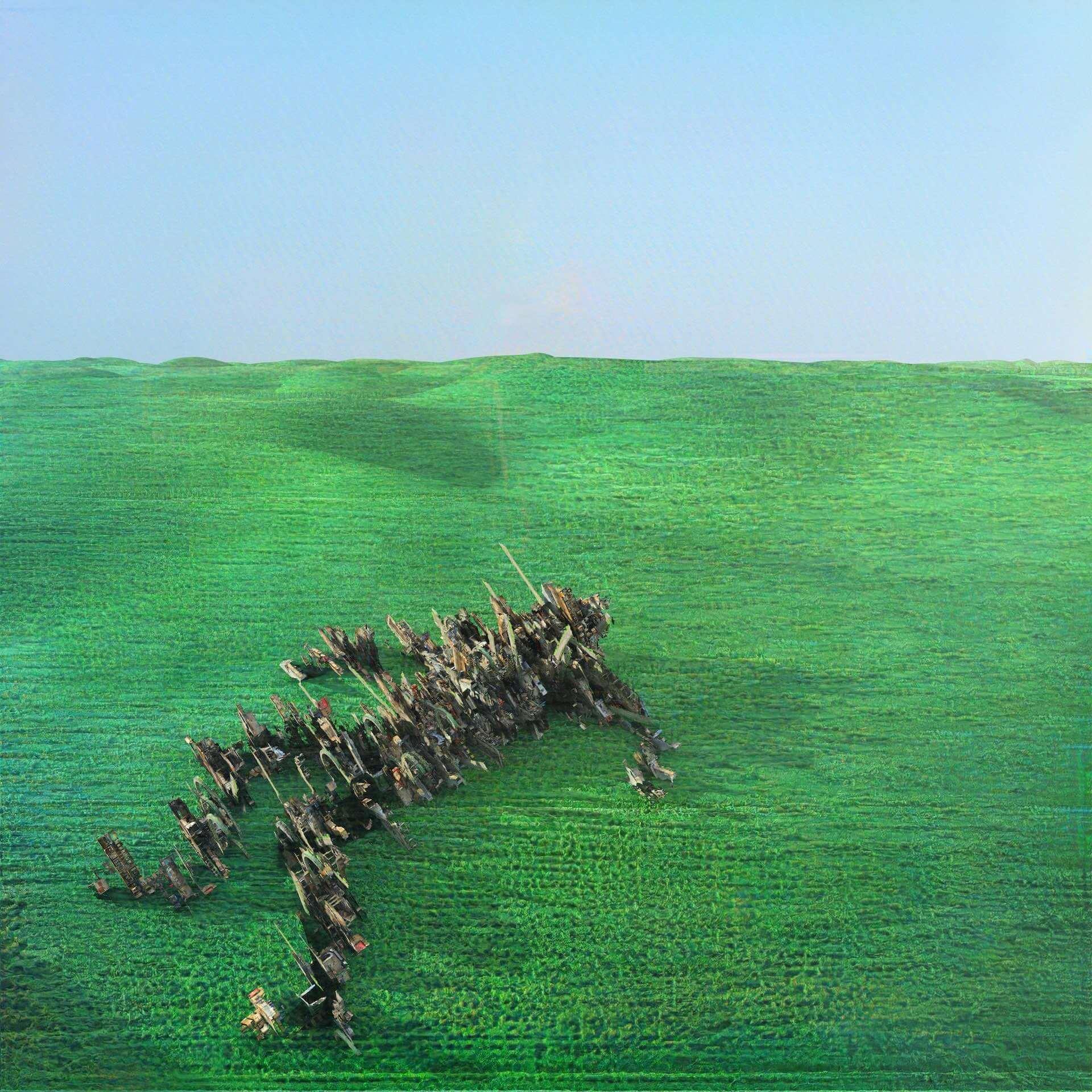 """次世代UKロックシーンの注目バンド・Squidがデビューアルバム『Bright Green Field』をリリース決定!収録曲""""Narrator""""MVが解禁 music210128_squid_1-1920x1920"""