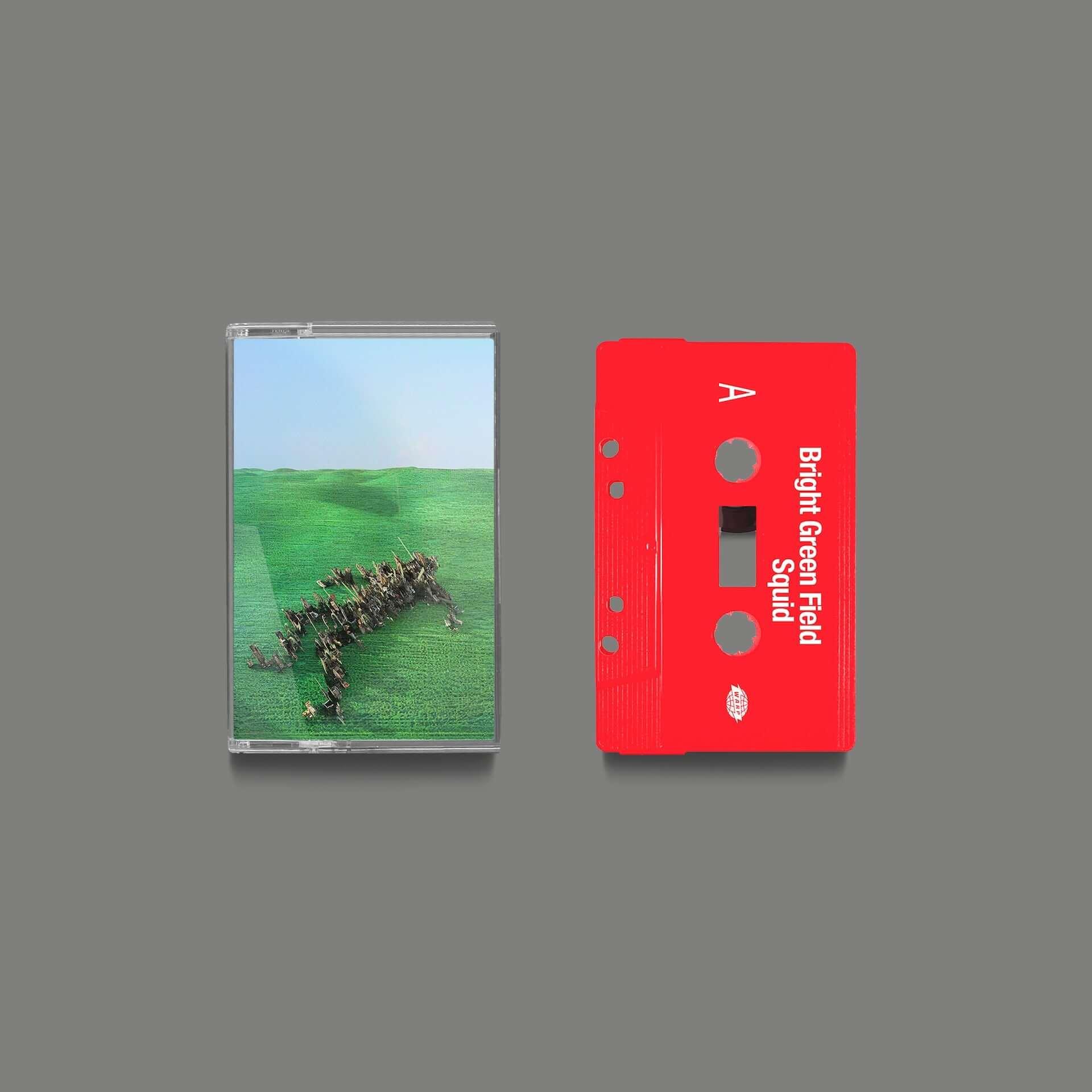 """次世代UKロックシーンの注目バンド・Squidがデビューアルバム『Bright Green Field』をリリース決定!収録曲""""Narrator""""MVが解禁 music210128_squid_6-1920x1920"""